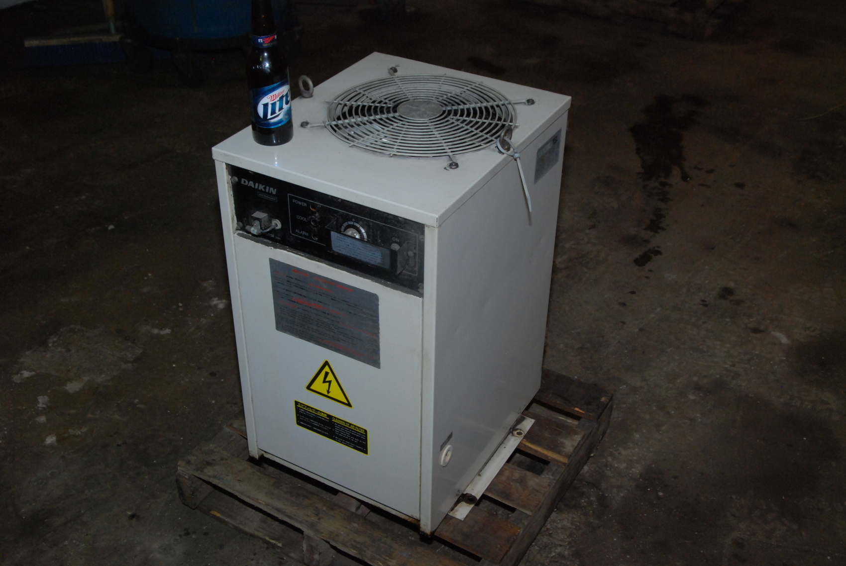 Daikin AKS54AK-U30 CNC Oil Cooler Chiller unit;3 Phase;Ref.DF-22