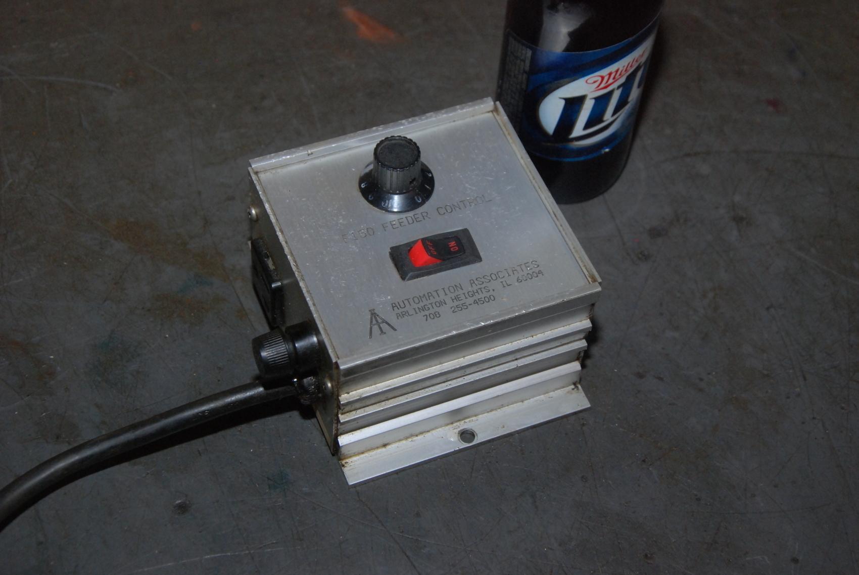 Automation Associates E150 Feeder Control;120VAC;50/06Hz