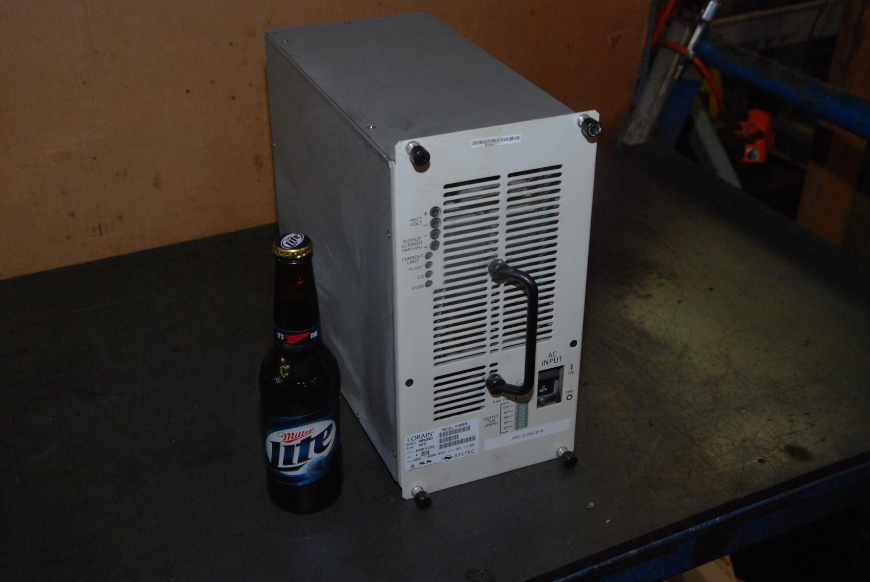 Lorain 100 Amp 28 Volt Rectifier Model A100B25 Spec 486525601