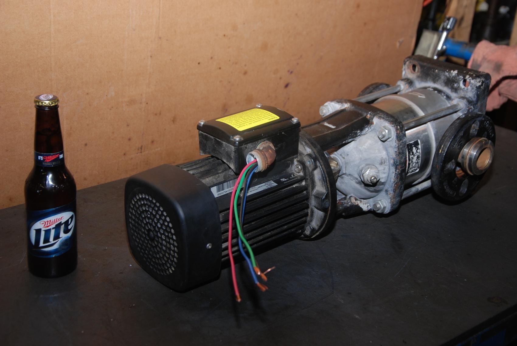 Grundfos CRN5-4 A-FGJ-G-E-HQQE Coolant Pump;3Phase;1.5HP