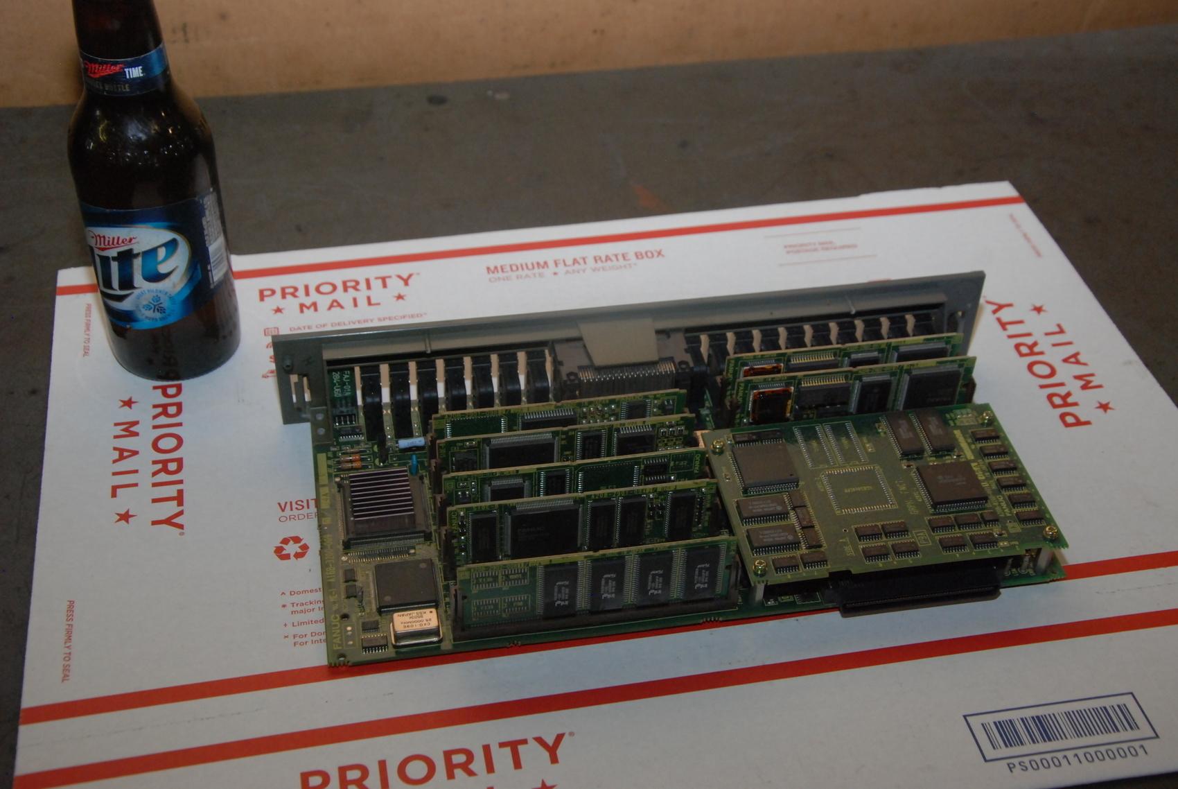 FOR PARTS Fanuc A16B-3200-009 0/04A CPU Board