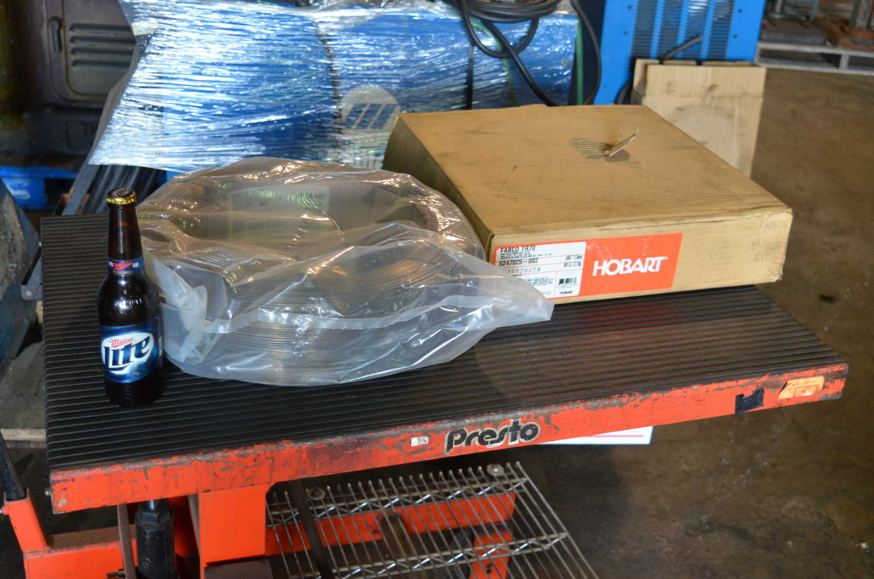 """NEW Hobart FABCO TR70 Welding Wire;5/64""""(2mm);60LBS;S247025-002"""