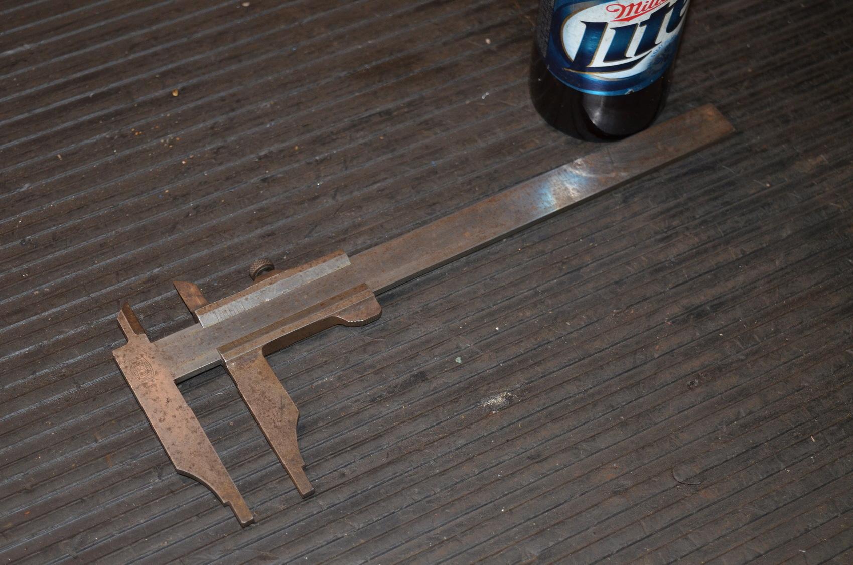 "Vintage Mauser 9""vernier caliper"