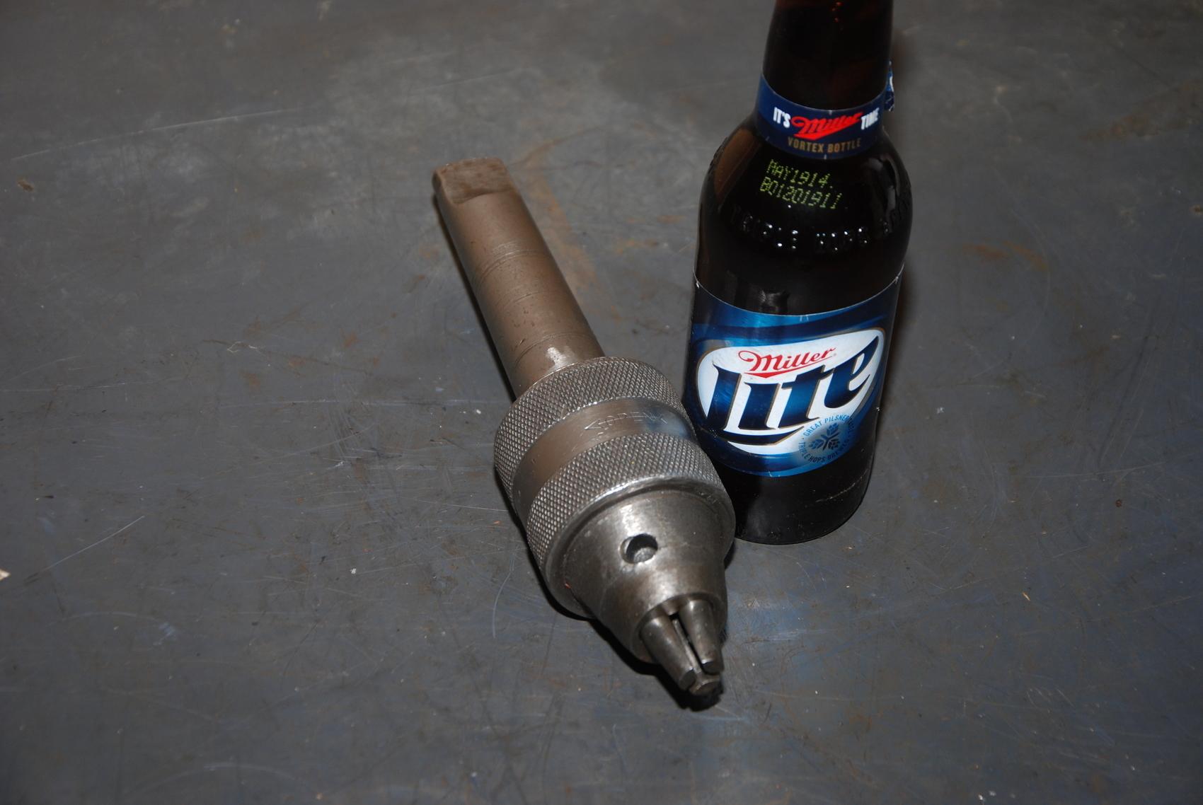 """Union mfg N107 Drill Chuck;0-17/32"""";MT#4 shank"""