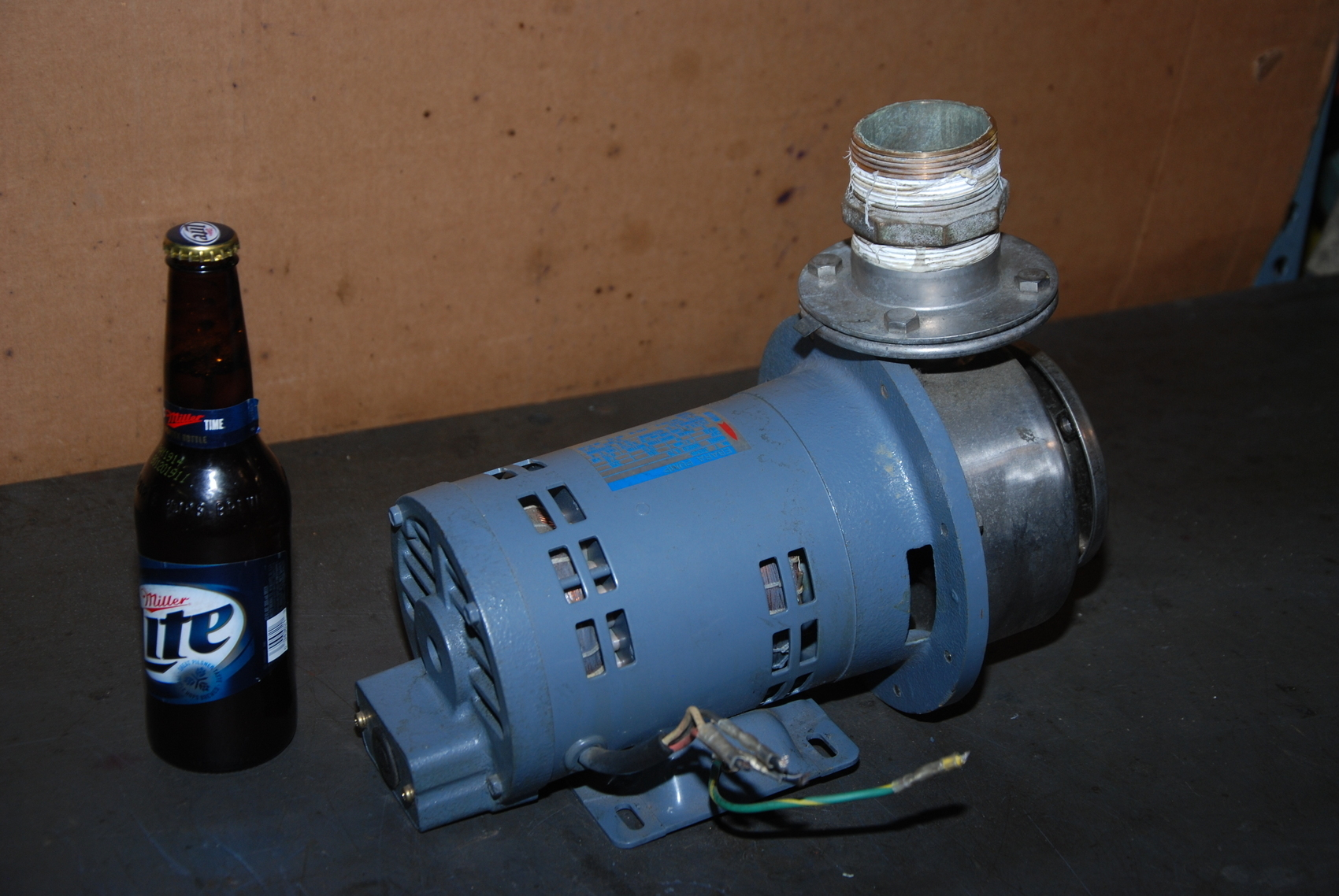 Ebara 50SCD 6.75 STAINLESS END SUCTION CENTRIFUGAL PUMP;0.75KW