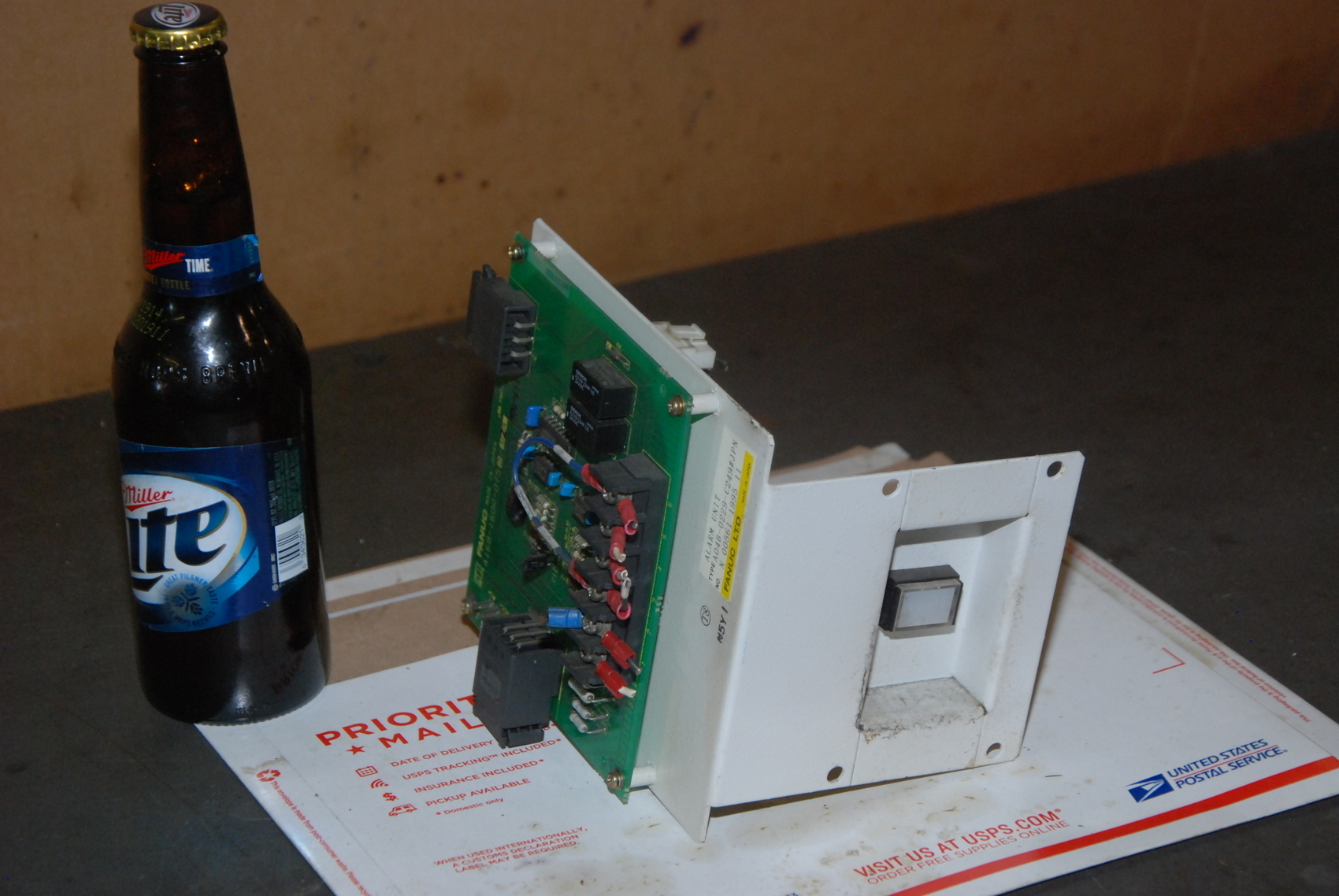 Fanuc A04-B-0229-C249 Alarm Unit