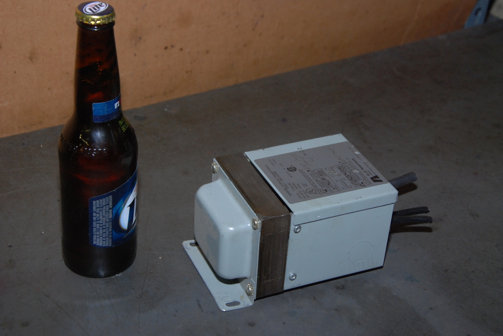 Acme T-81062 Transformer;0.1KVA;primary:240x480;secondary:24x48VAC