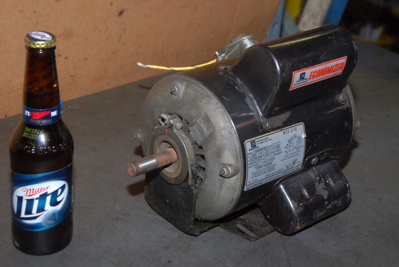 Emerson 1/2HP Single phase motor;TA63CXKZ-632;1725RPM;115/230VAC