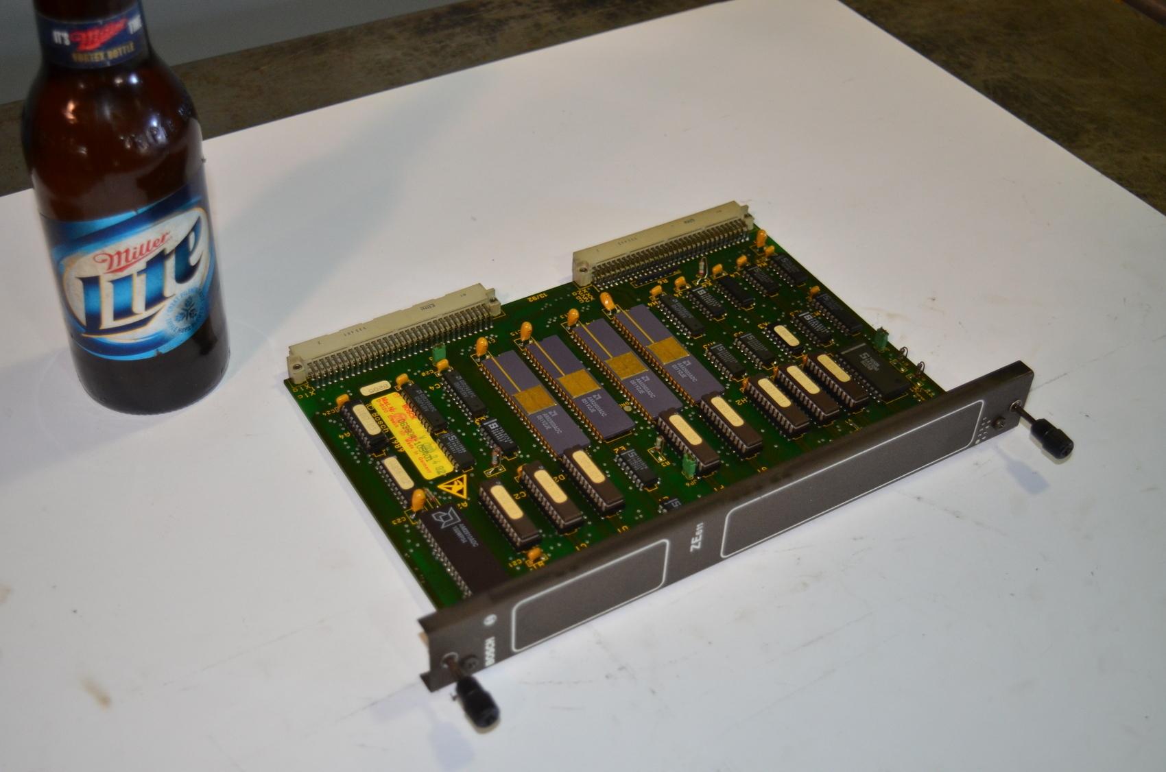 Bosch ZE611 CNC Circuit Board PLC Module,063804-105-401