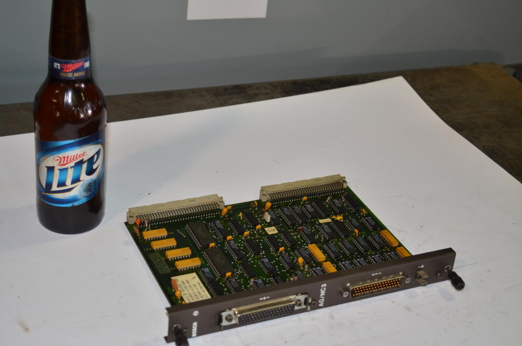 Bosch AG/NC3 CNC Circuit Board PLC Module;056583-108401