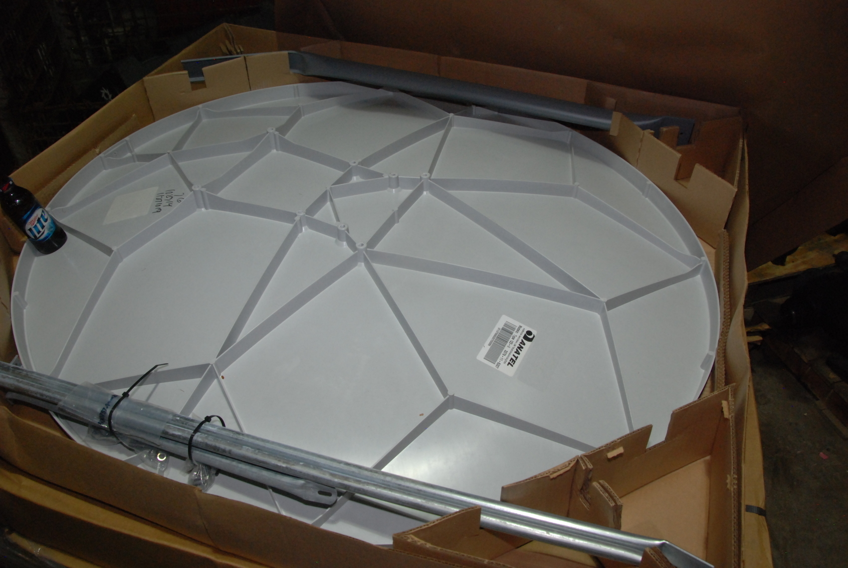 NEW Skyware 1.2M type 123 Reflector w/Class II feed Support
