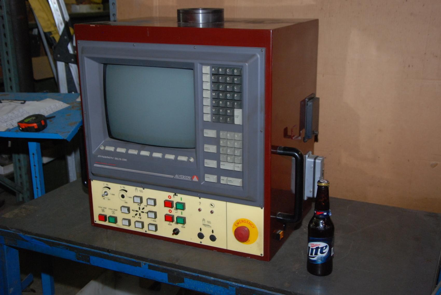 Autocon Dynapath Delta CNC Operator panel