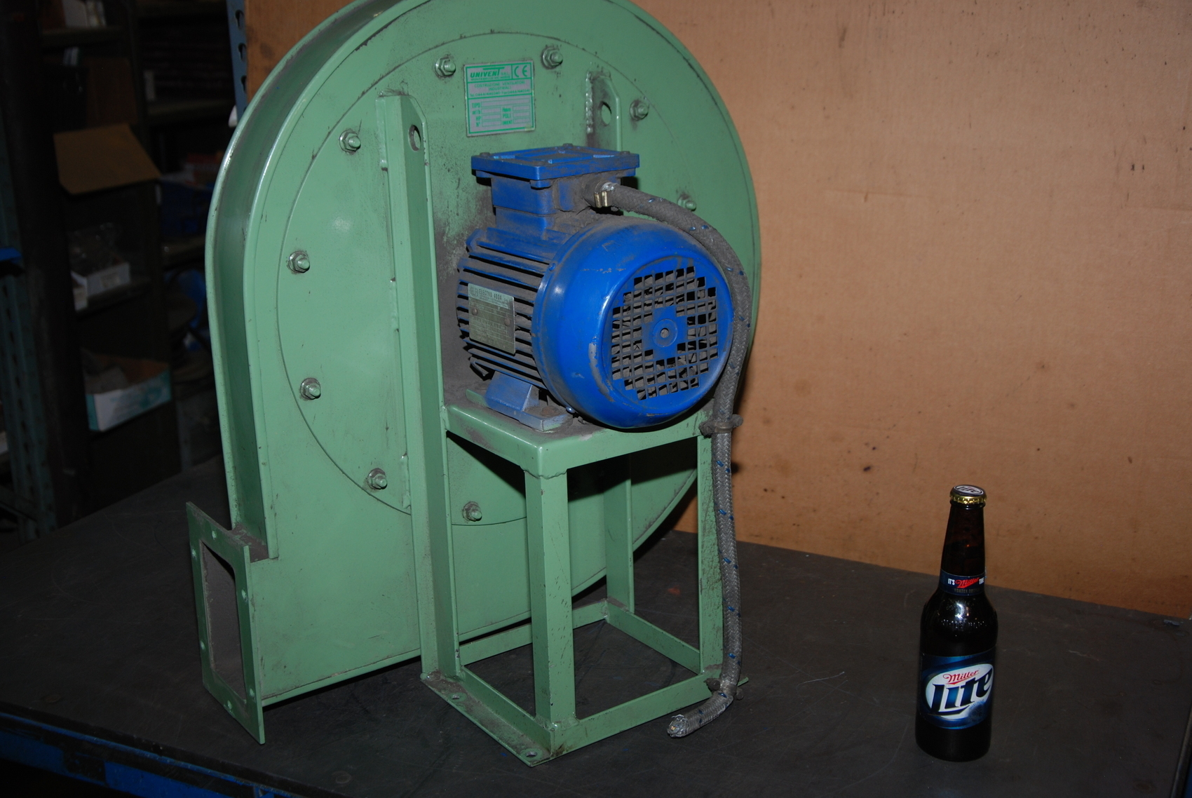 Univent 1.1kW Blower;3 Phase;Electro ADDA C80/2 Electric Motor