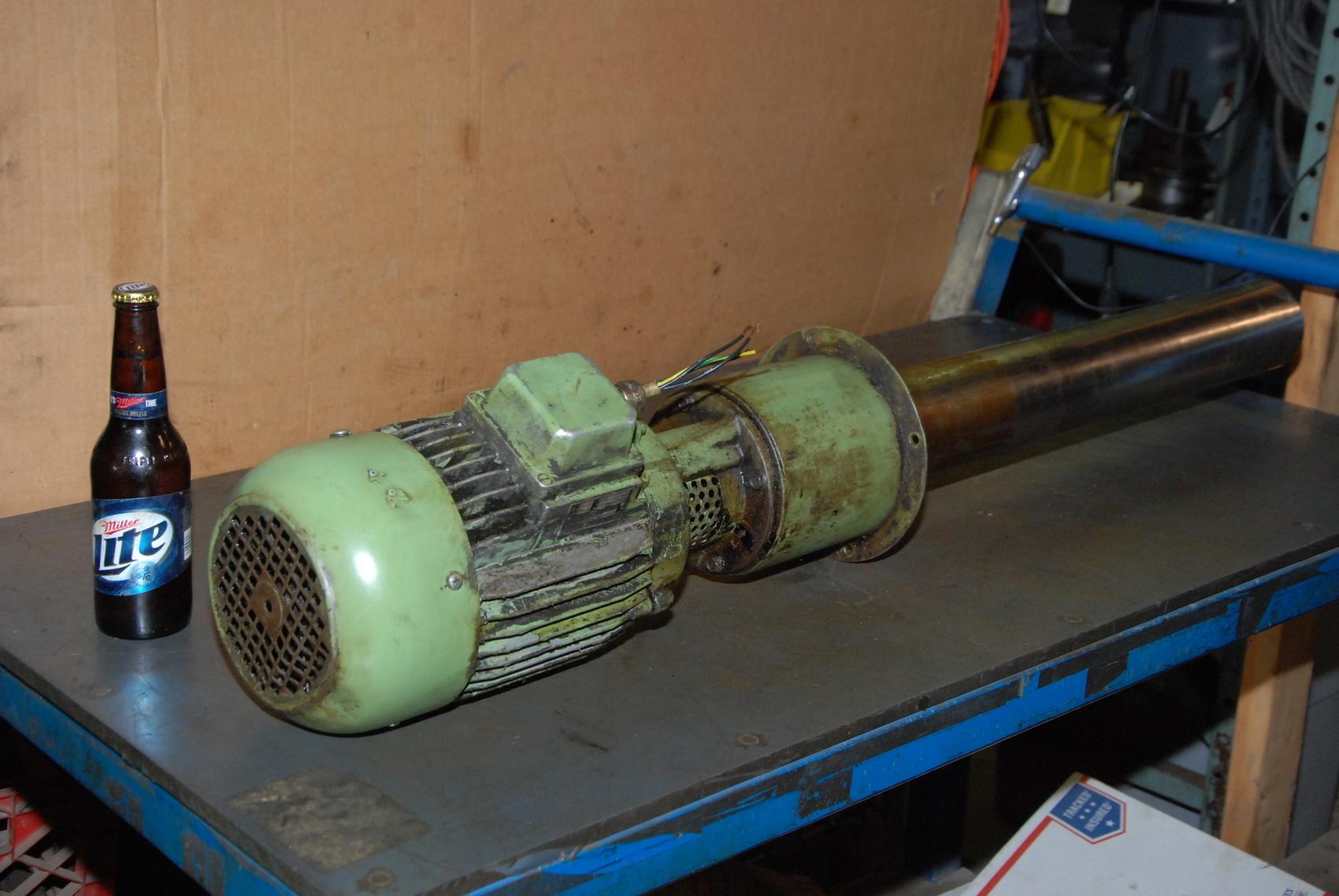 BRINKMANN PUMPS TC160/740-Z Coolant pump;160 l/min;3phase