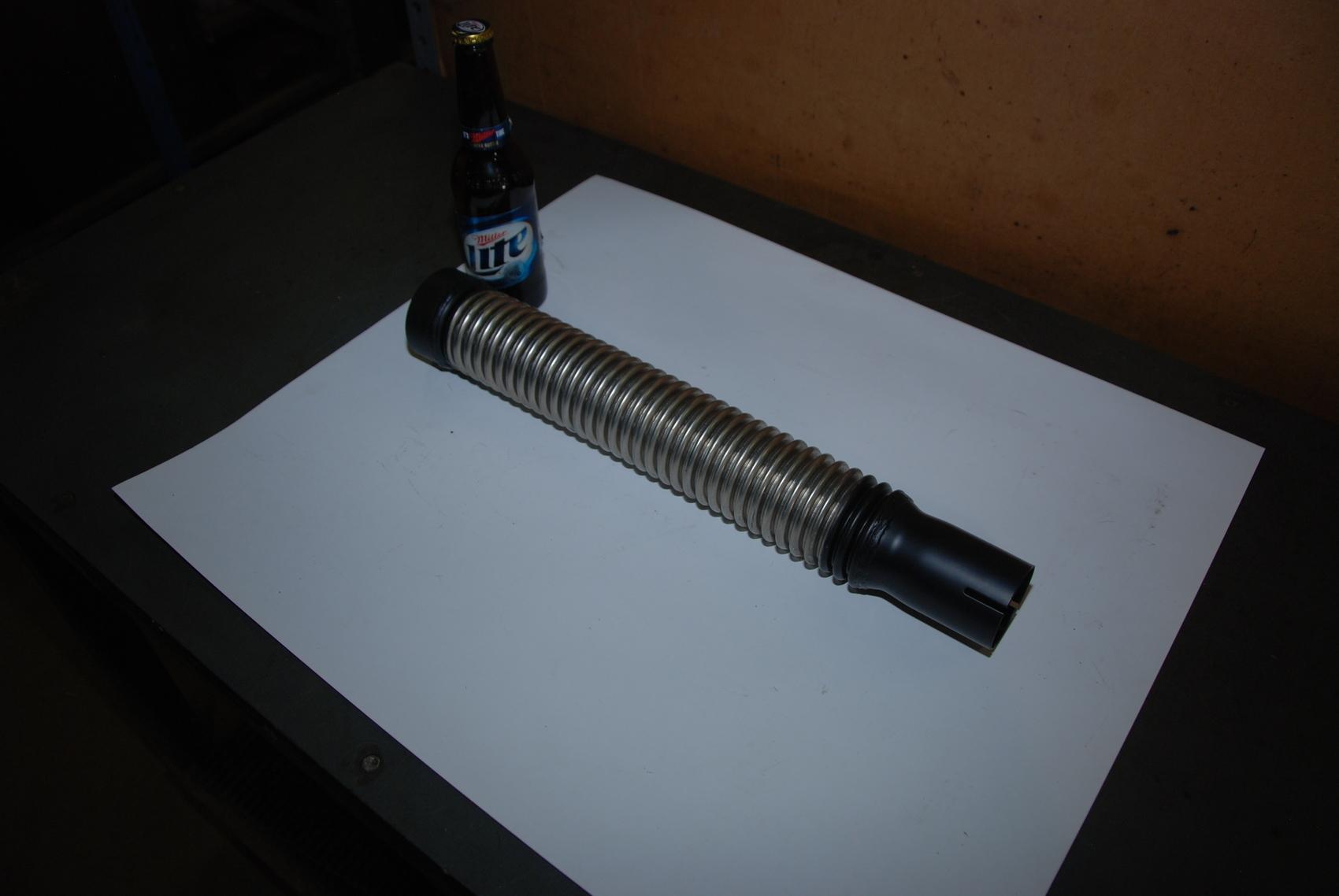 """Phillips Temro Flex-024668 FC02-18SC Muffler Flex Coupling;2""""Stainless"""