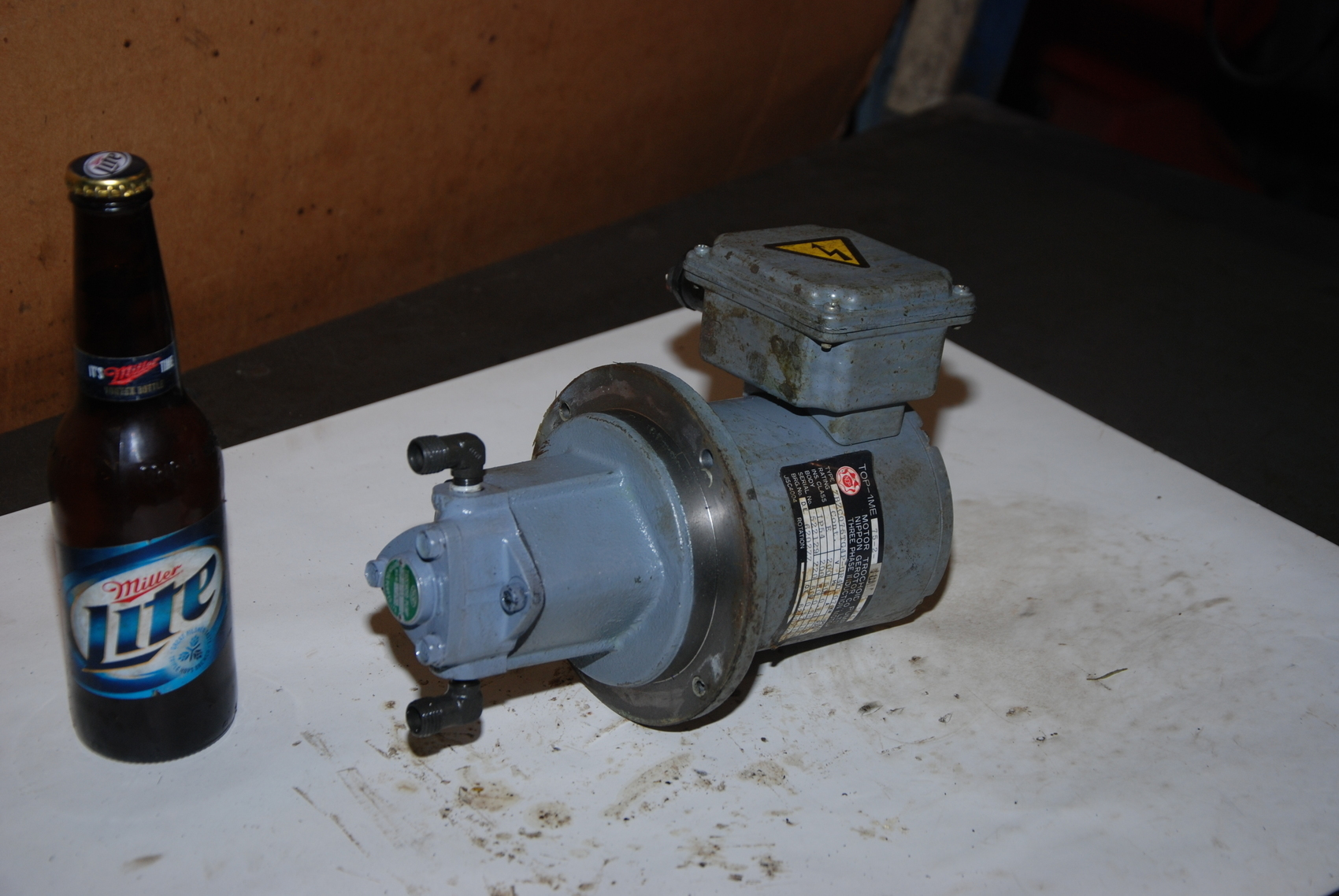 NOP TOP 10 MA Motor Trochoid Pump Top 1ME 75 2 10MA 54