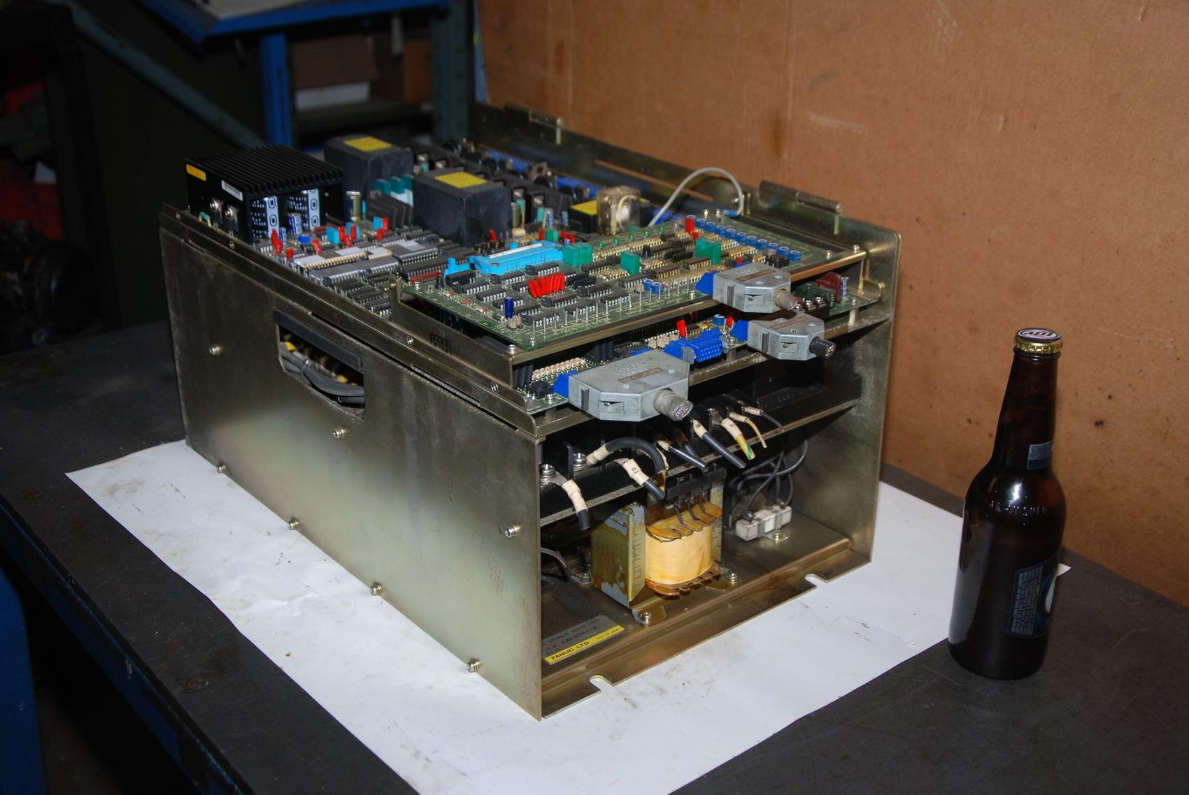 Fanuc A16B 6044 H106 AC Spindle Servo Unit