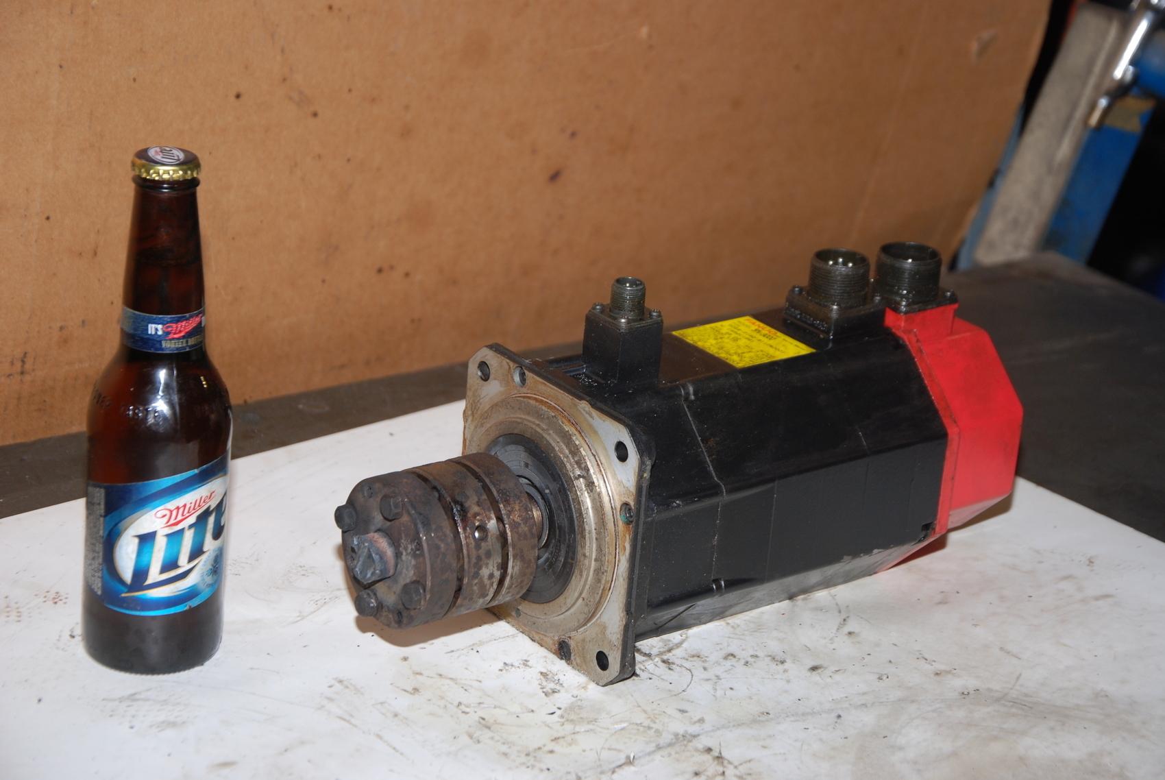 Fanuc 5M/3000 Servo Motor A06B B110#0001