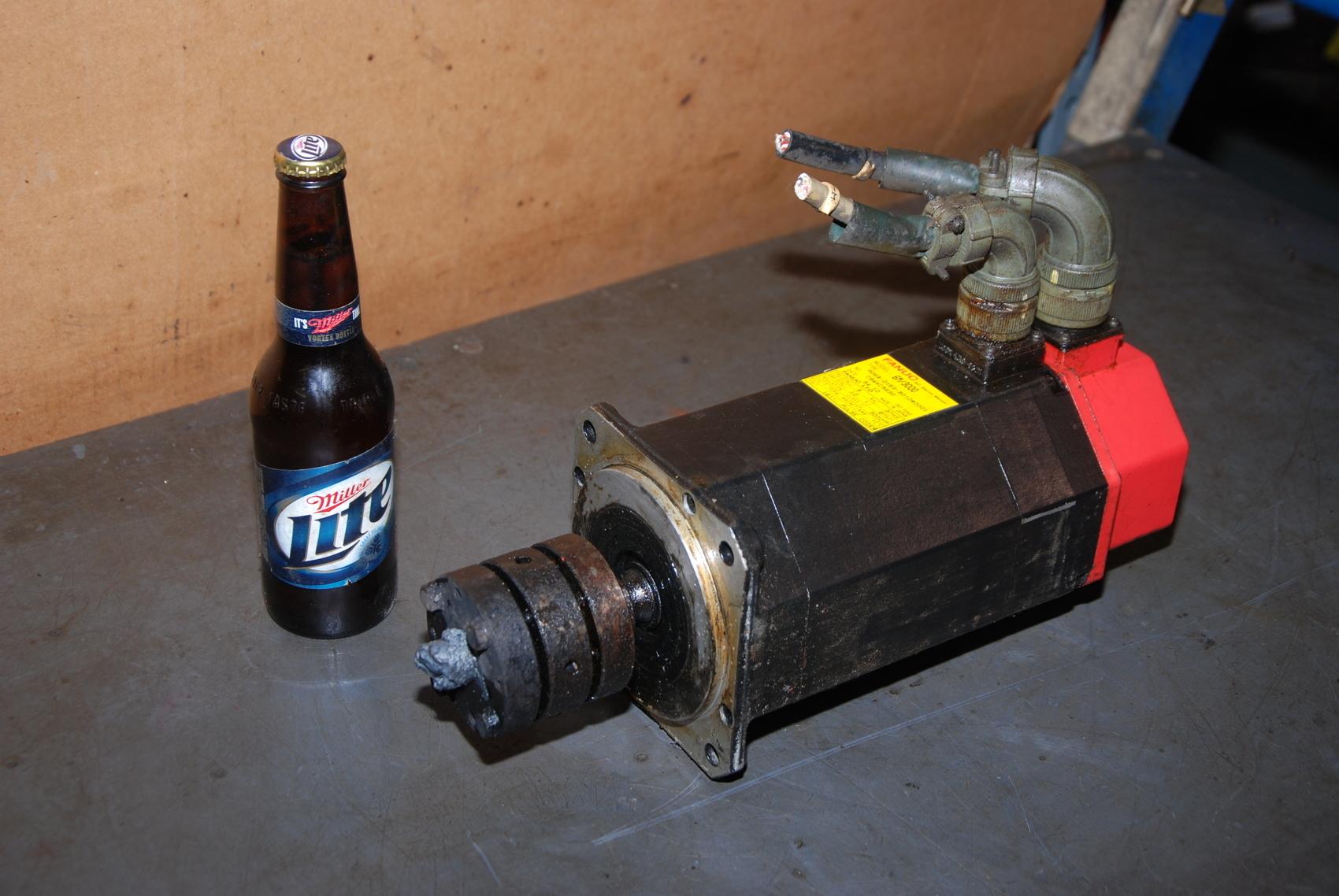 Fanuc 6M 3000 AC Servo Motor A06B 0163 B010#0001