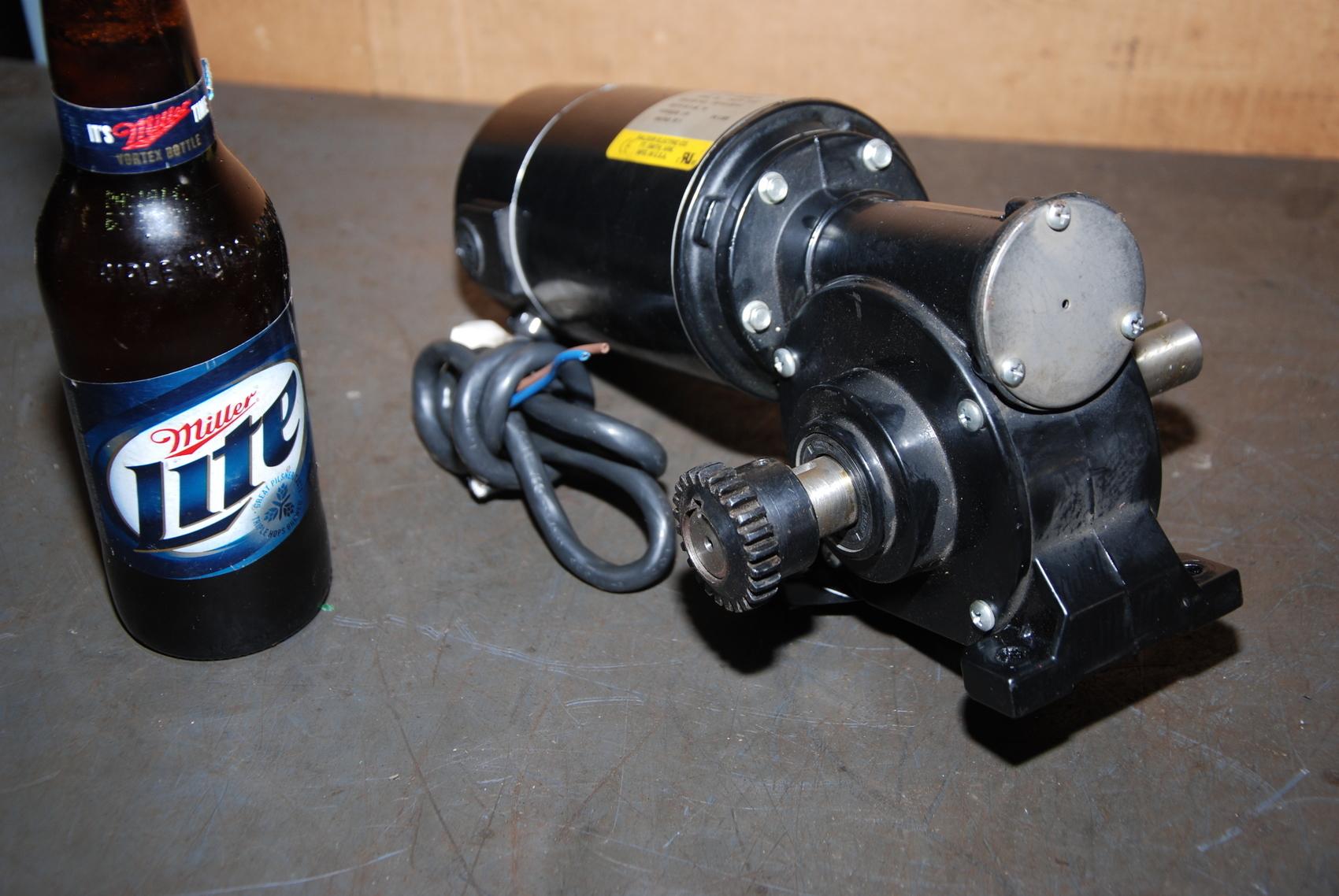 Baldor GP7424 DC GearMotor;0.13HP;30RPM;