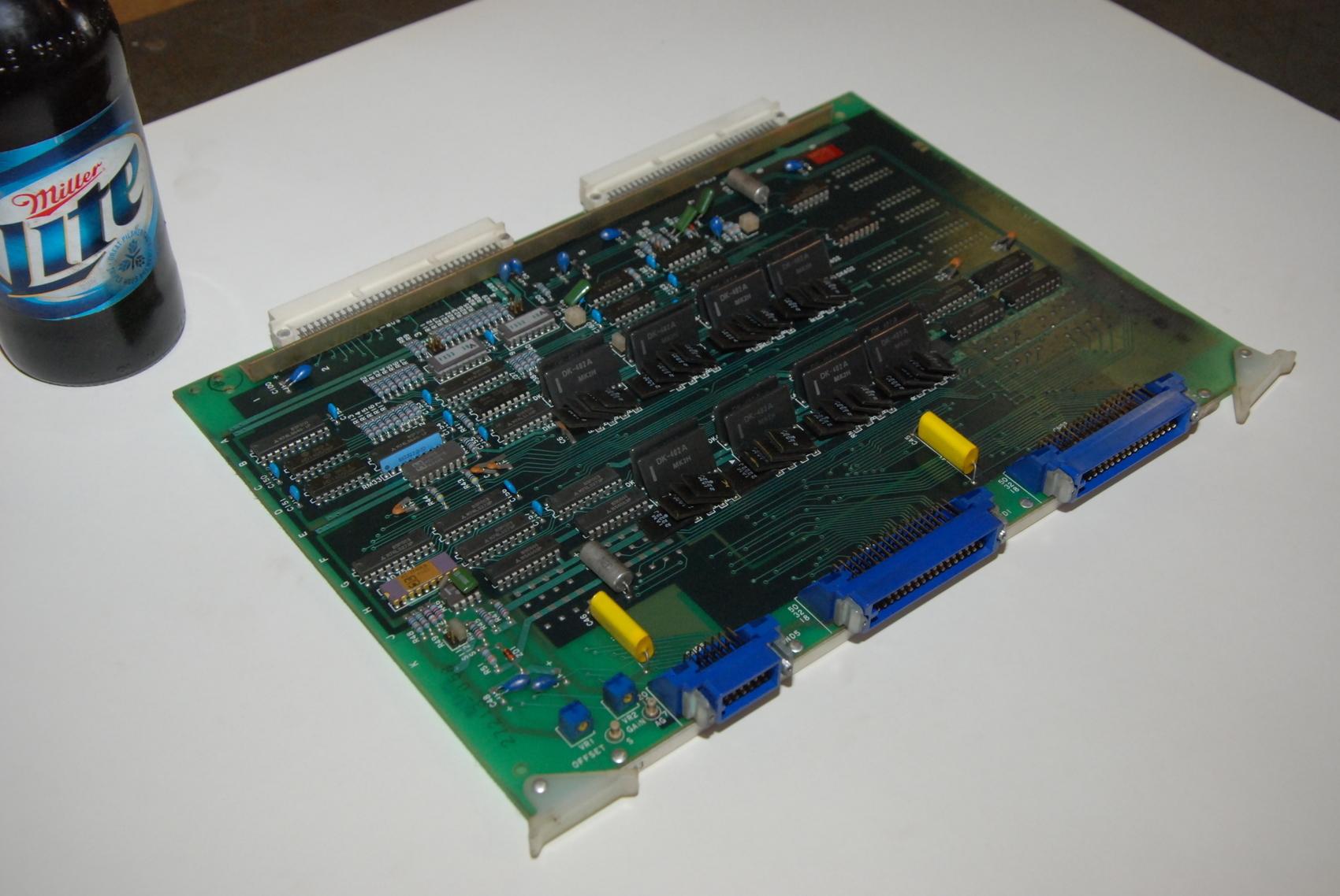 Mitsubishi FX53A BN624A240H04 Rev F Circuit Board CNC PLC Module