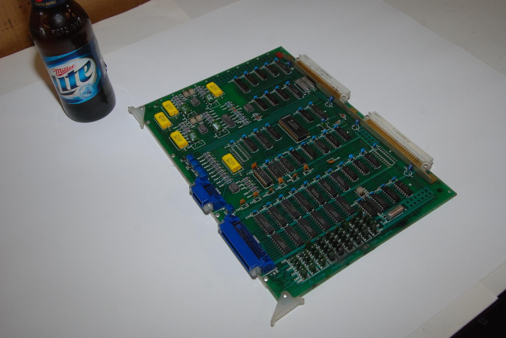 Mitsubishi FX73B BN624A320H04 Rev C Circuit Board CNC PLC Module