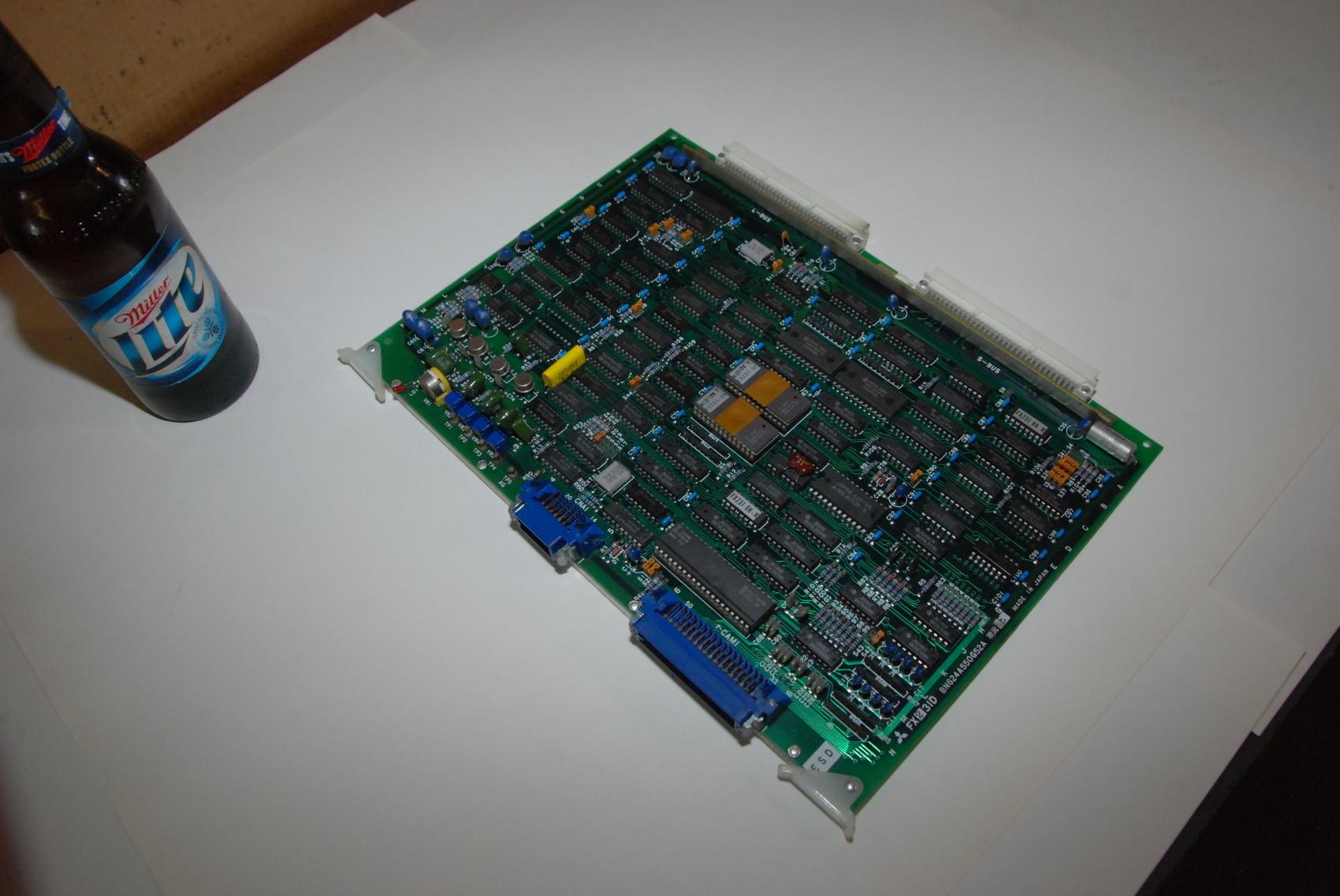 Mitsubishi FX231D BN624A550G52A Rev E Circuit Board CNC PLC Module