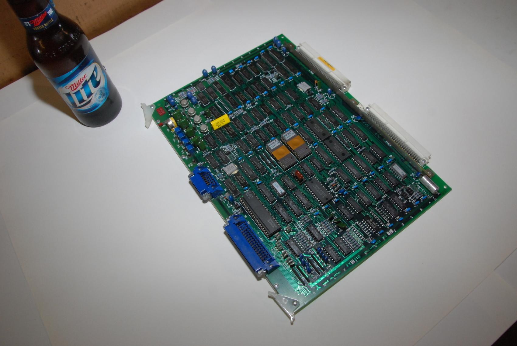 Mitsubishi FX231D BN624A550G52 Rev E Circuit Board CNC PLC Module