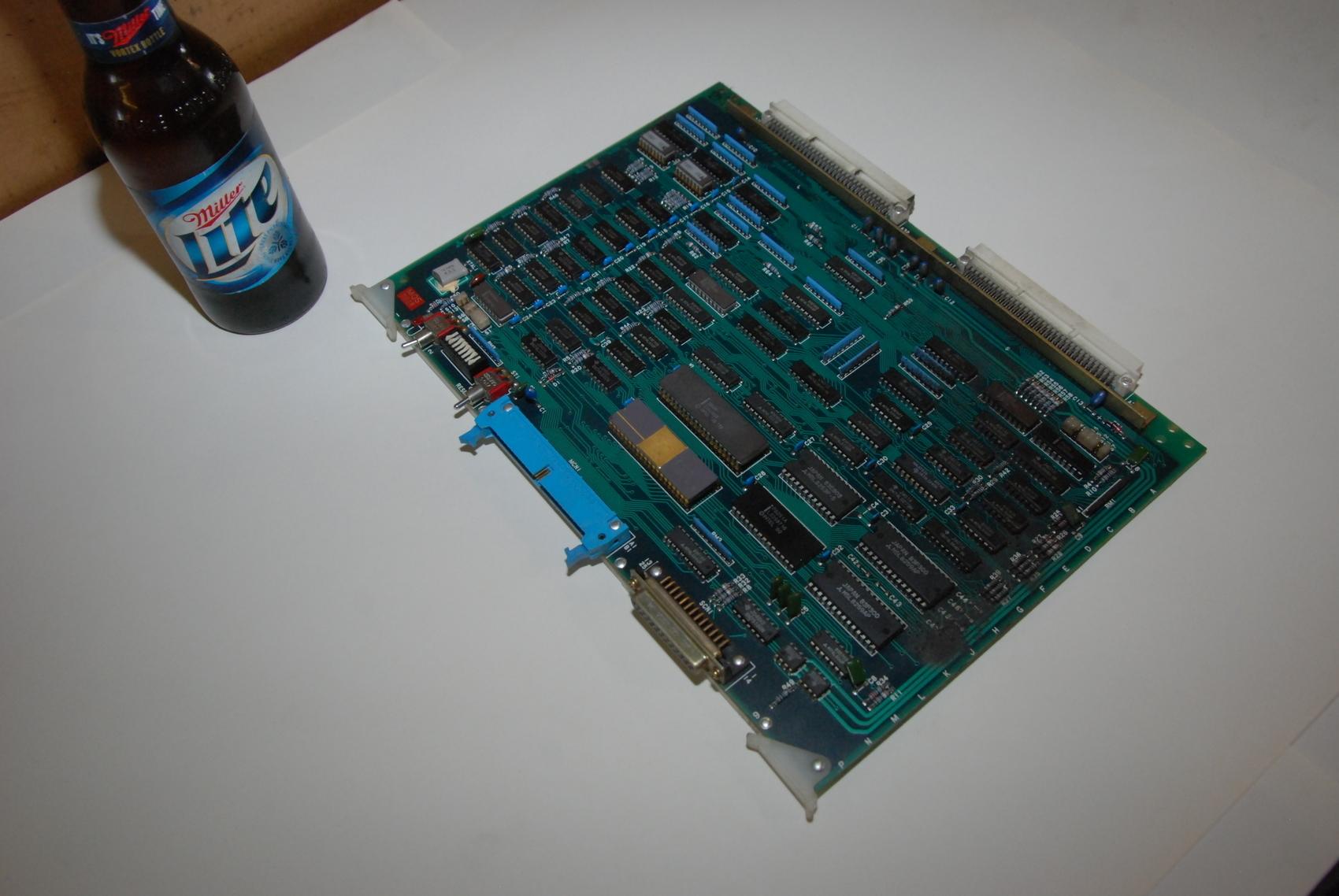 Mitsubishi FX01B BN624A236H05 Rev H Circuit Board CNC PLC Module