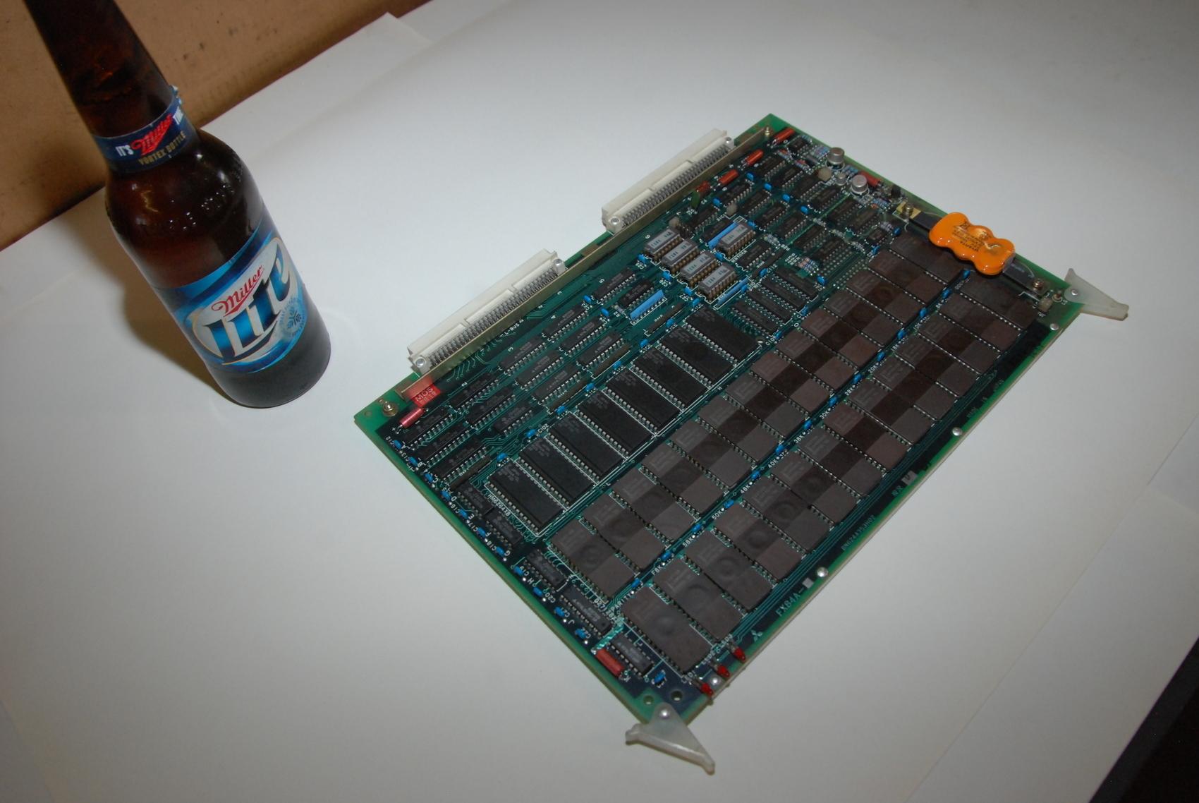 Mitsubishi FX84A BN624A353H02 Rev D Circuit Board CNC PLC Module