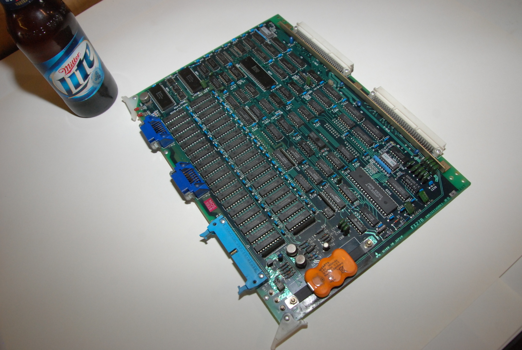 Mitsubishi FX27B BN624A246H02 Rev G Circuit Board CNC PLC Module
