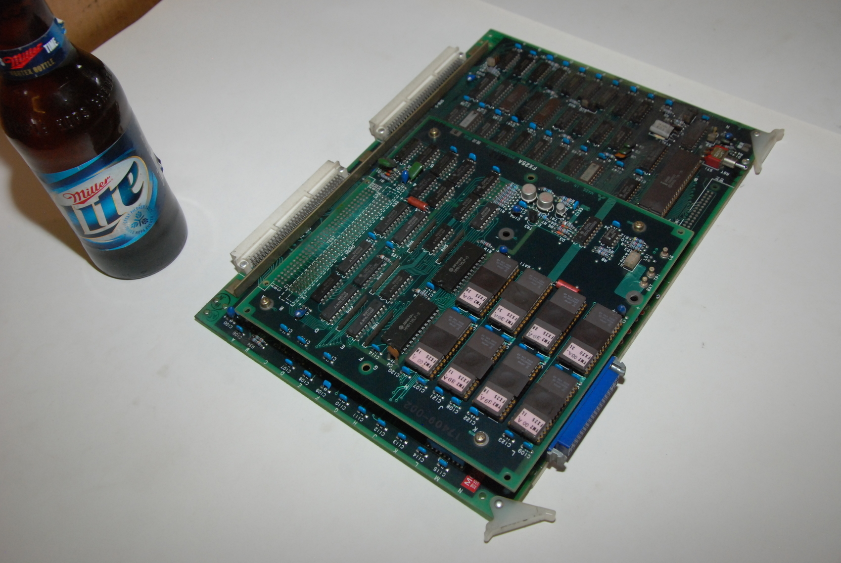 Mitsubishi FX15B+FX25A Circuit Board CNC PLC Module