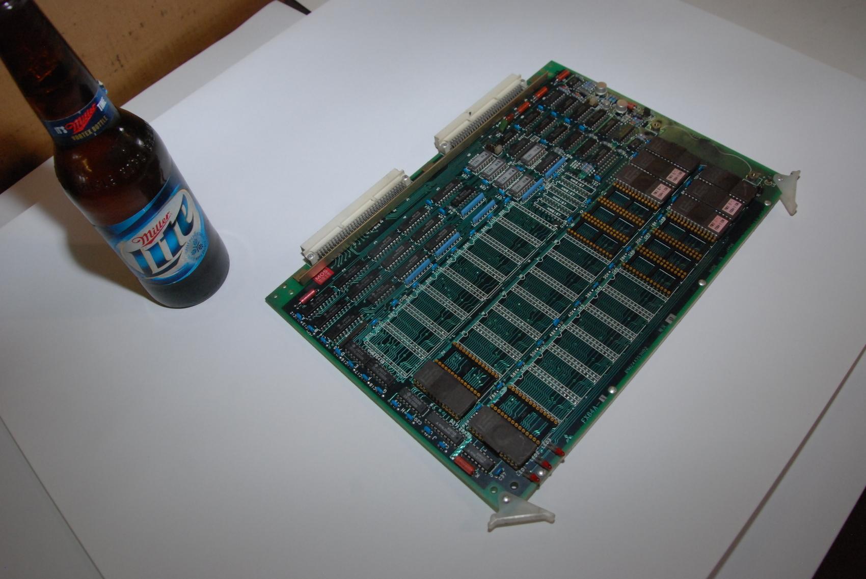 Mitsubishi FX84A-1 BN624A353H02 Rev D Circuit Board CNC PLC Module