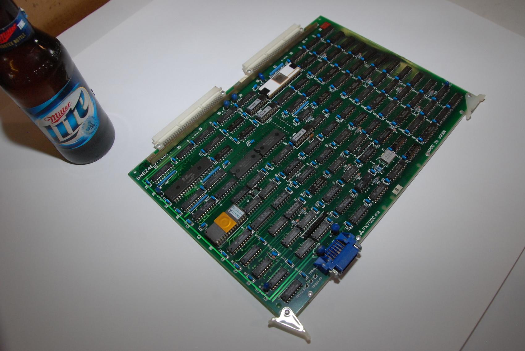 Mitsubishi FX702C BN624A577H01 Rev B Circuit Board CNC PLC Module