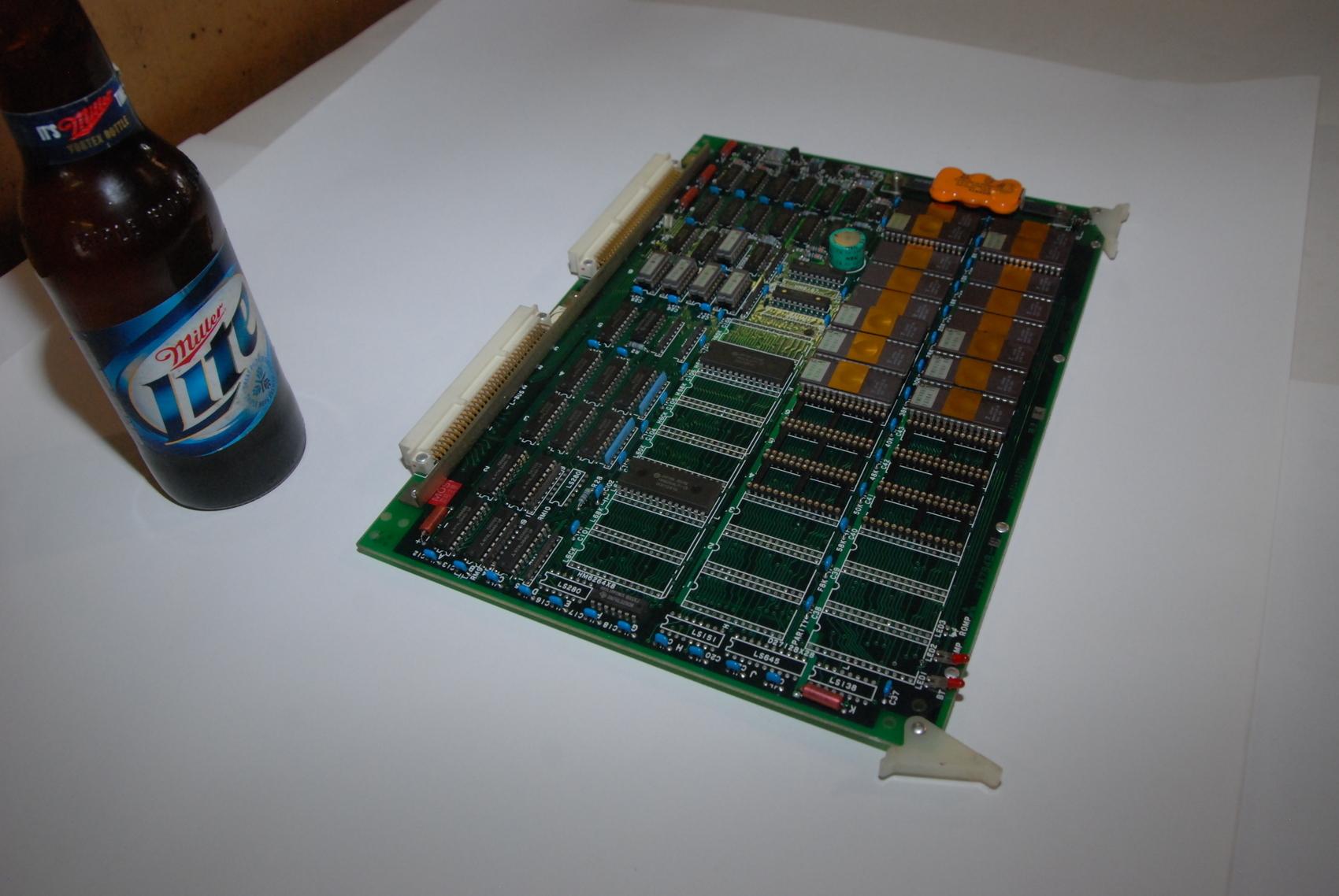 Mitsubishi FX784B-9 BN624A535H01 Rev*Circuit Board CNC PLC Module