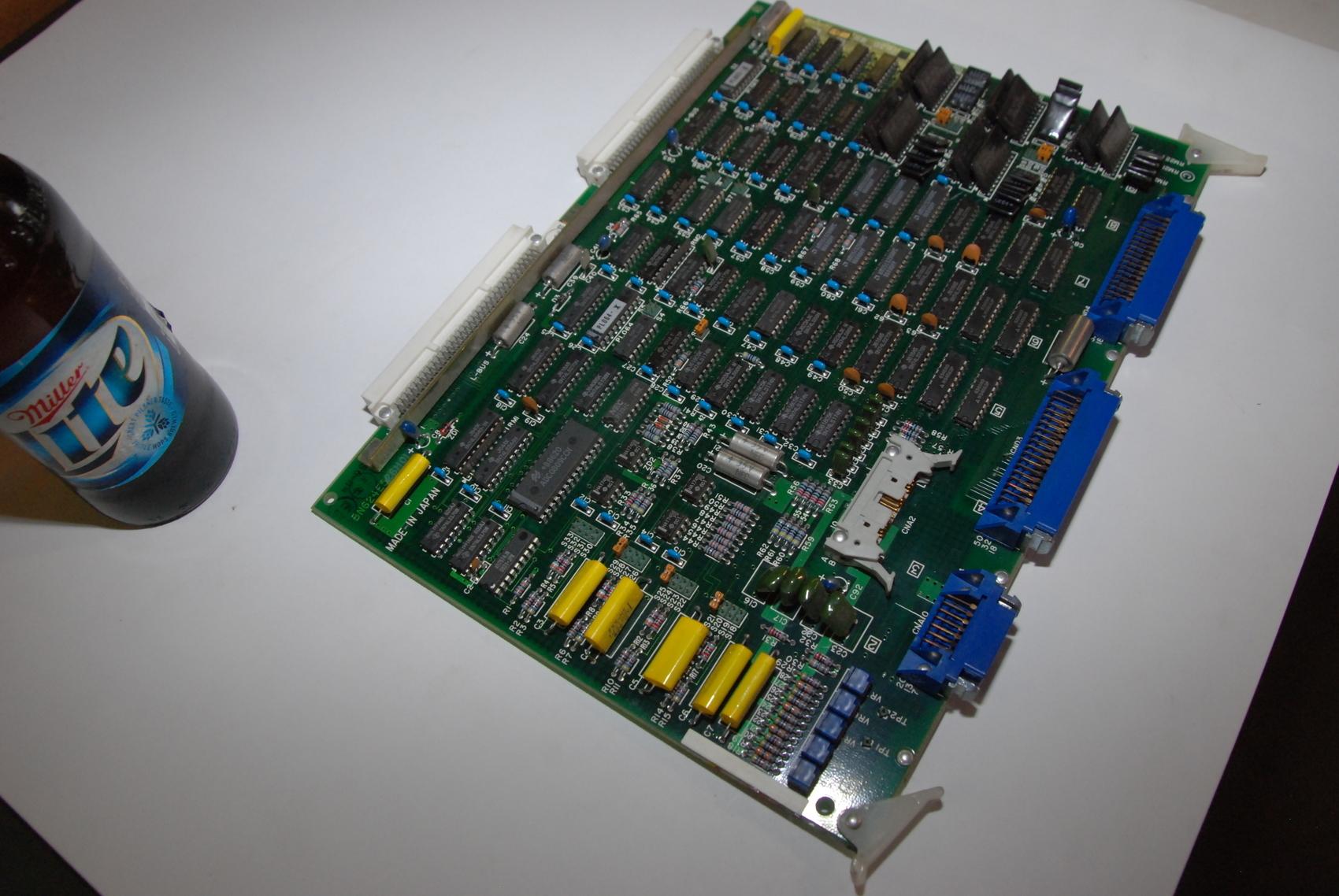 Mitsubishi FX763B BN624E526H01 Rev D Circuit Board CNC PLC Module