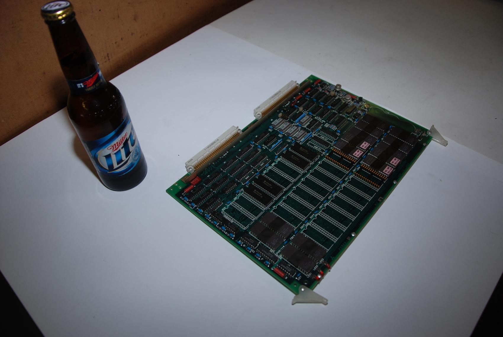 Mitsubishi FX84A-5 BN624A353H02 Rev D Circuit Board CNC PLC Module