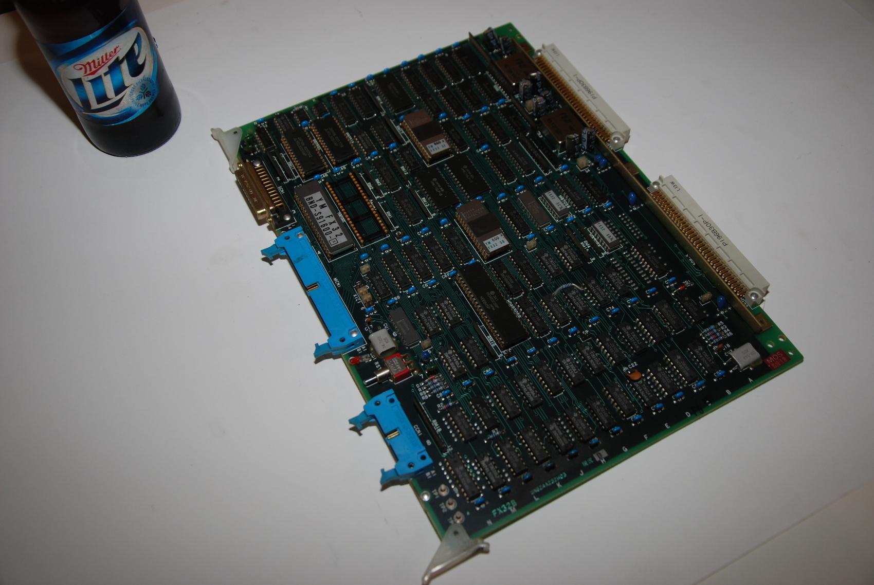 Mitsubishi FX32B BN624A232H03 Rev D Circuit Board CNC PLC Module