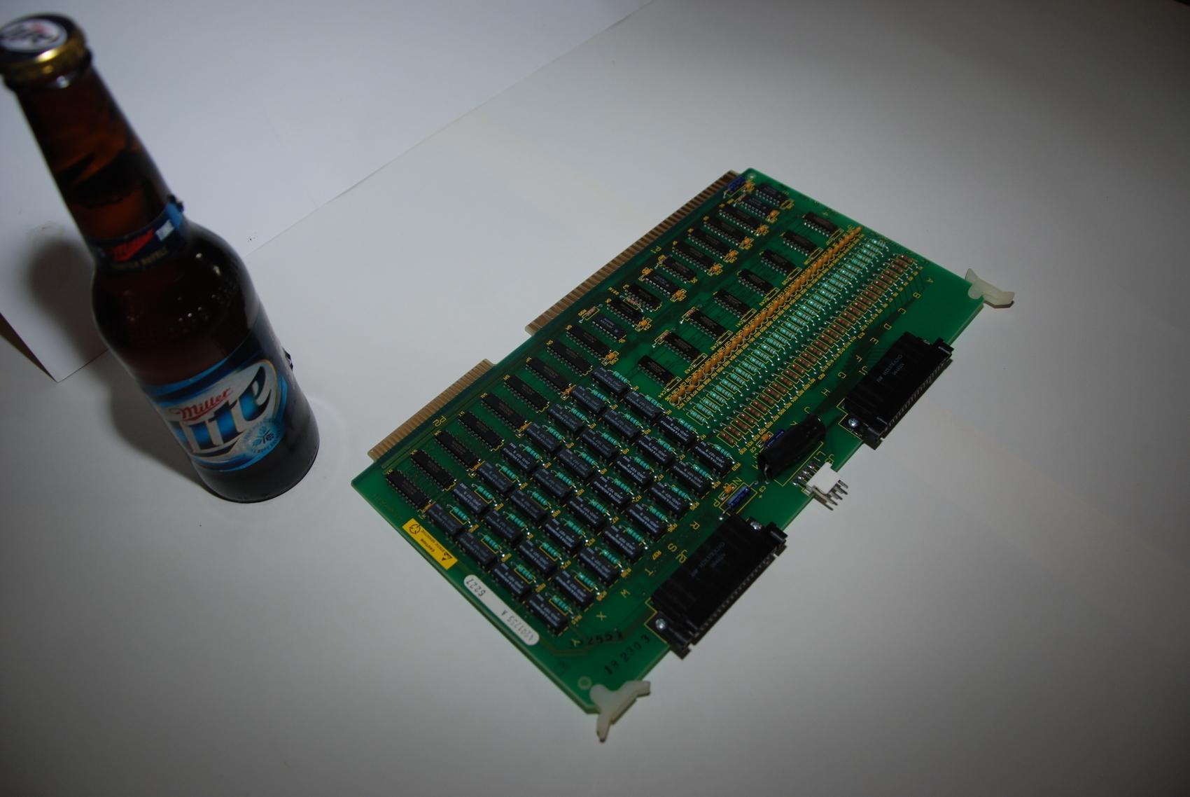 Dynapath DC I/O Interface Board PLC Module,Mod#4201755 A,T4201085 D