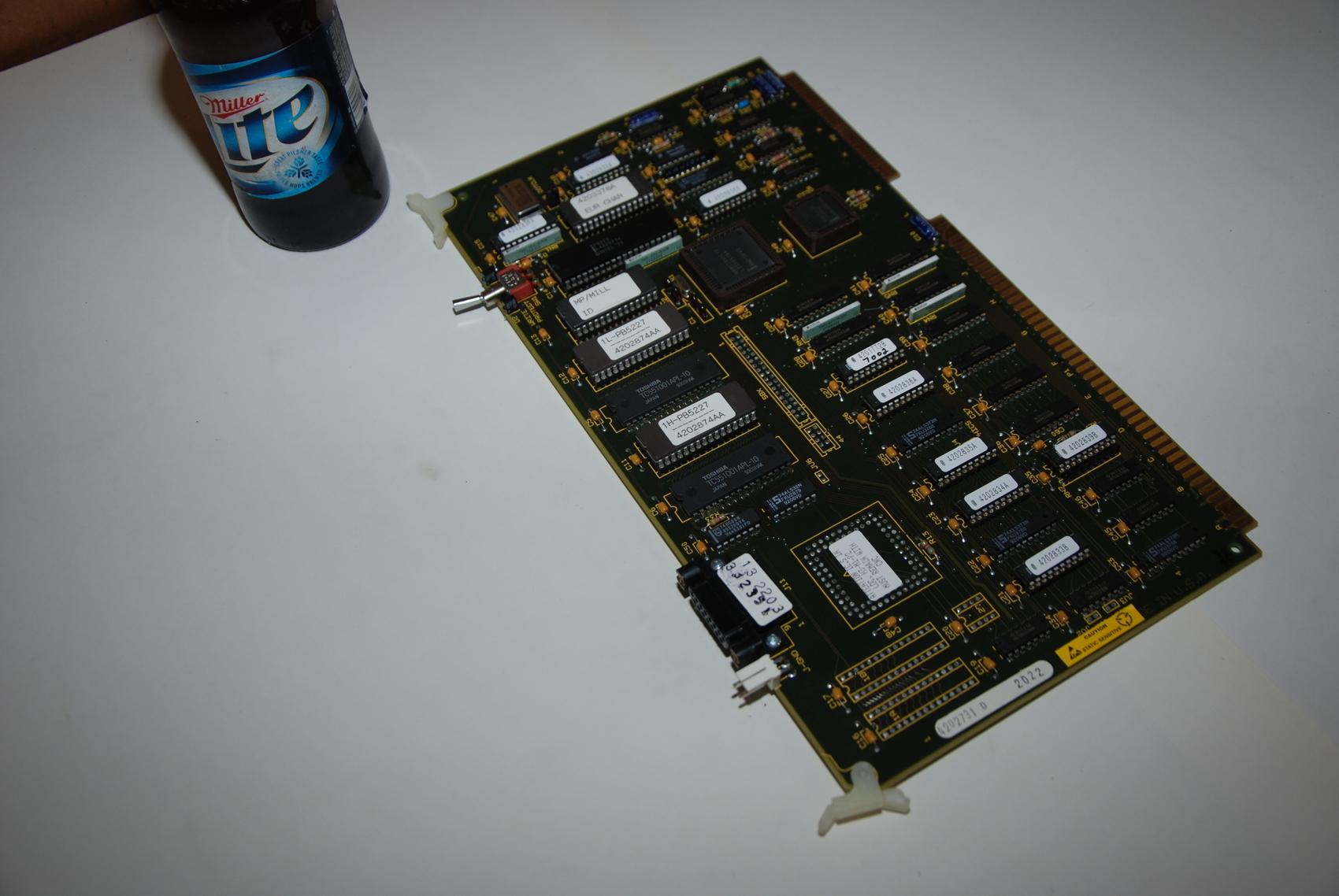 Dynapath Autocon 12MHZ Delta Processor board PLC Module,420273D