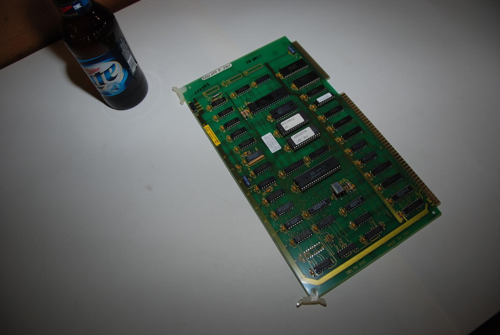 Dynapath Autocon Delta Pic circuit board PLC Module,Mod#4202204 H
