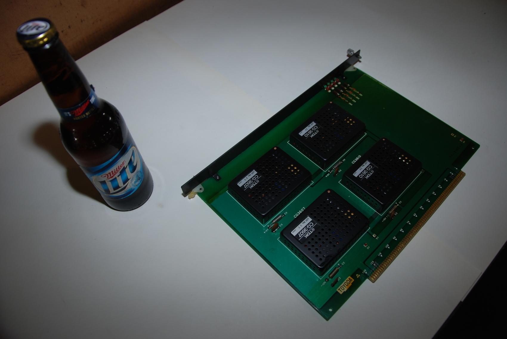 Toyoda TP-2165-2 Circuit Board CNC PLC Module