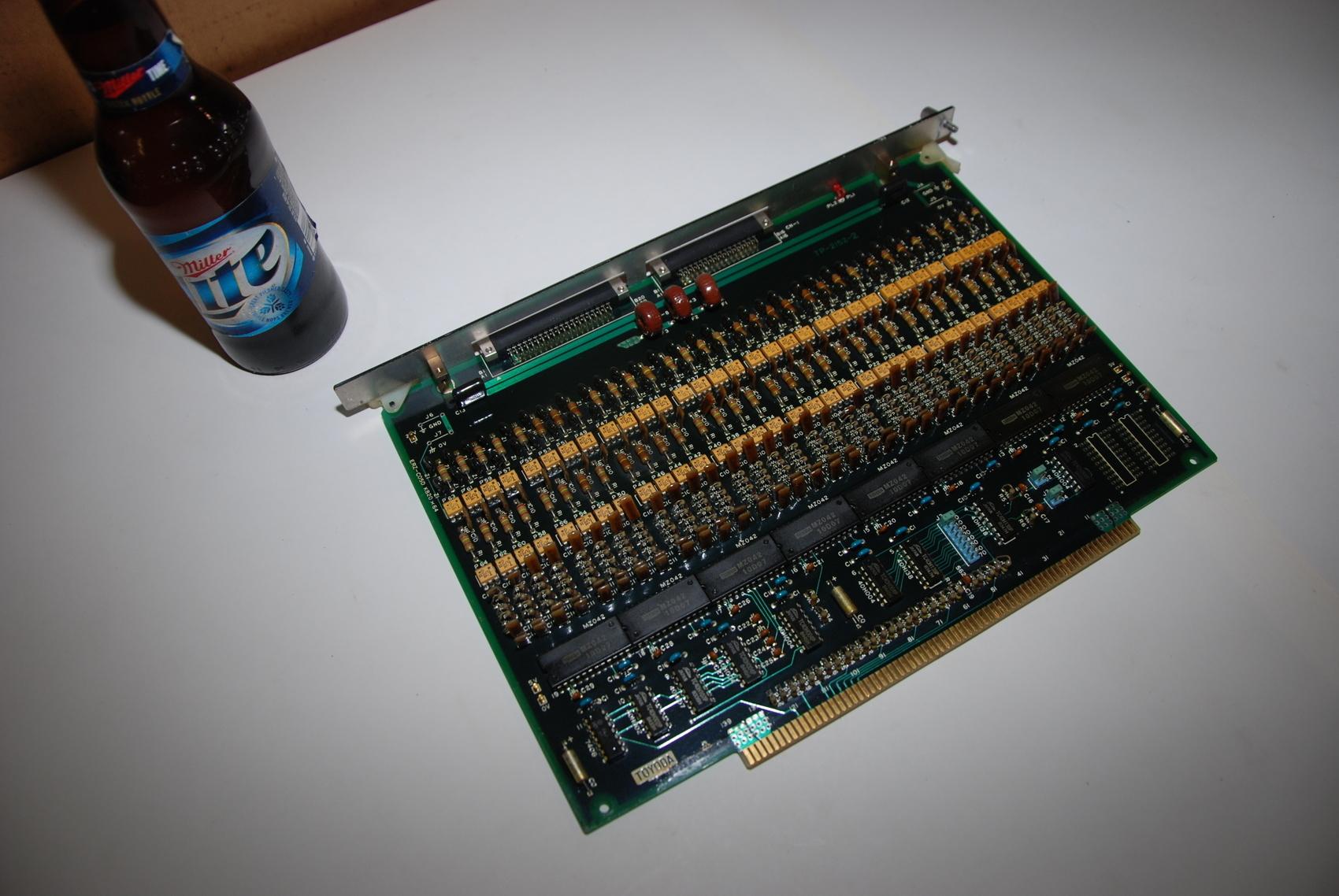 Toyoda TP-2152-2 Circuit Board CNC PLC Module