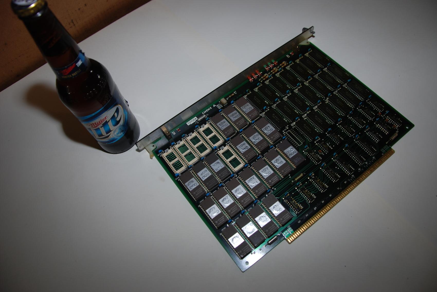Toyoda CMEM2 TP-2196-0 Circuit Board CNC PLC Module