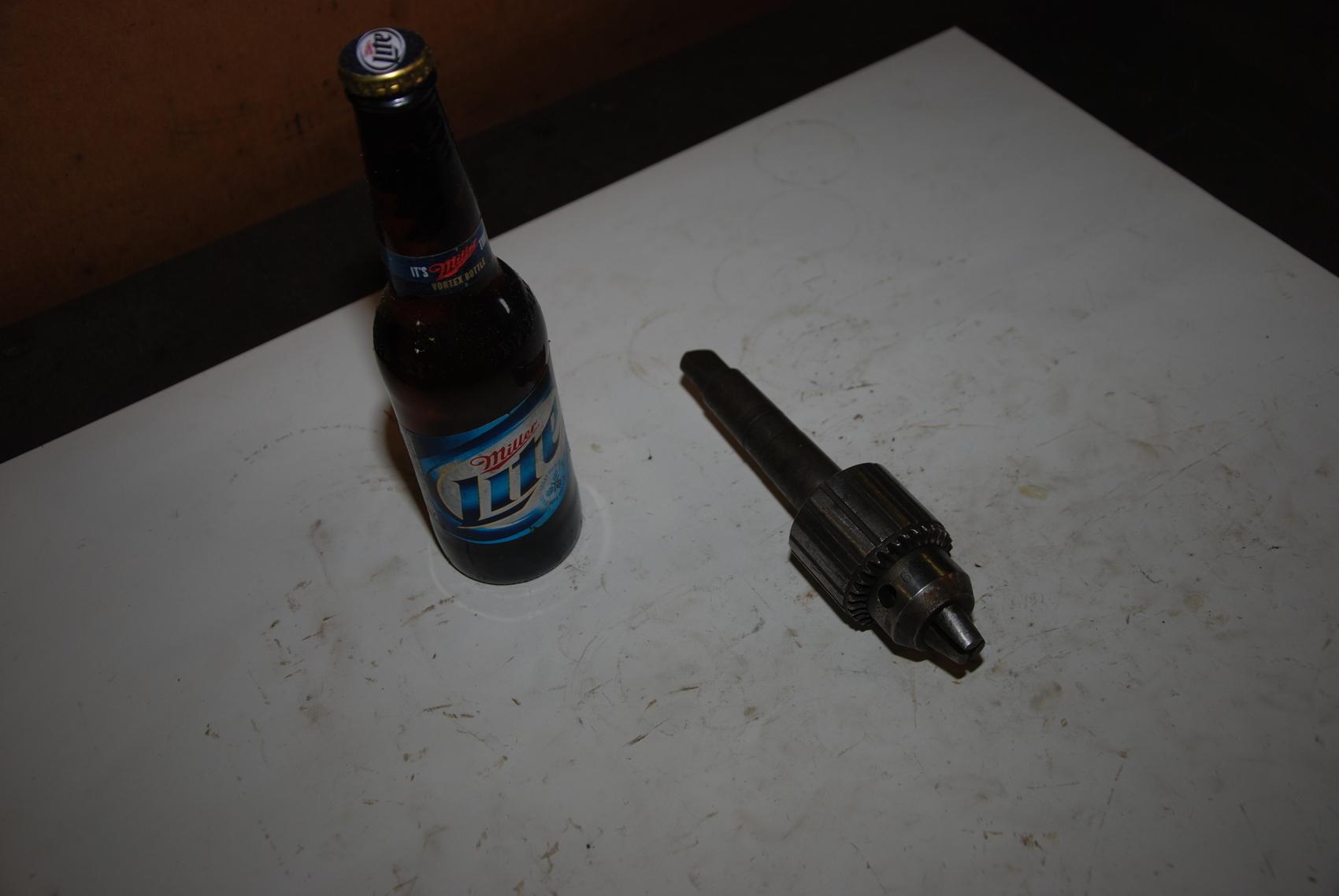 Jacobs Ball Bearing chuck 6A 2A/AO302 Arbor 3 Morse Taper