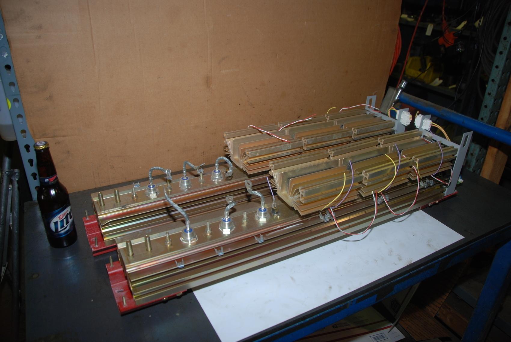 DC SCR Rectifier 600 Amp 48v