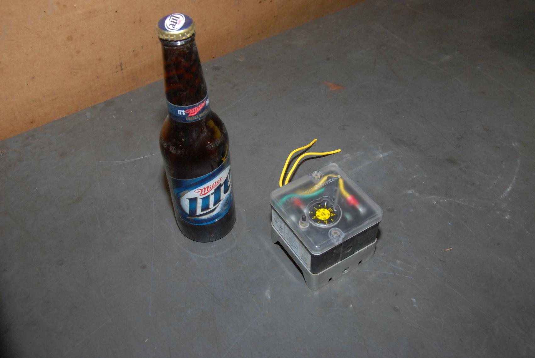 Antunes Controls 8103116202 LGP-G Operating Pressure Single Gas Switch