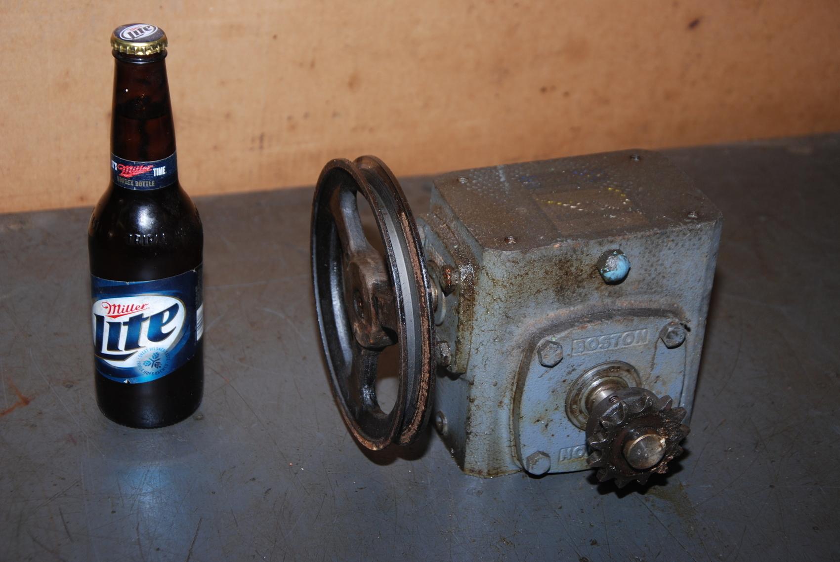 Boston Gear 71840XJ Gear Box.46Hp Ratio 40