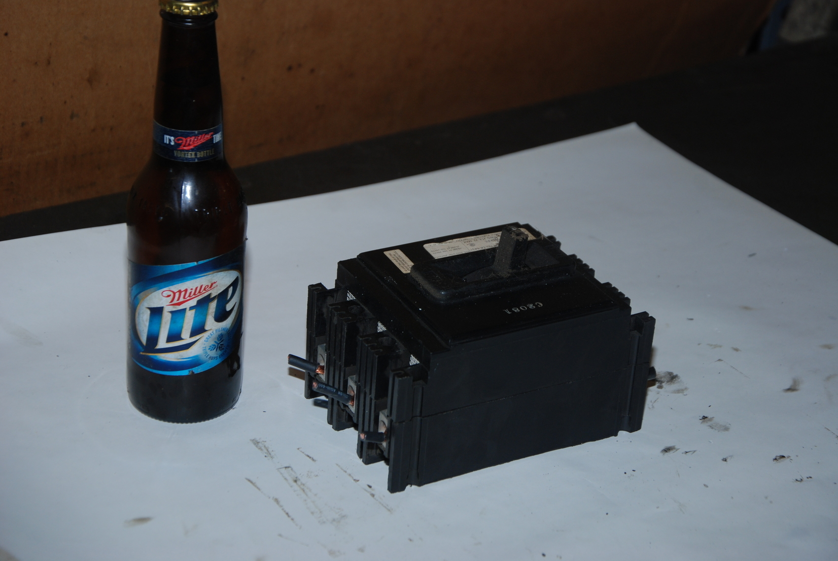 FPE NE Circuit Breaker 3 Pole 240 V.A.C 125/250 V.D.C