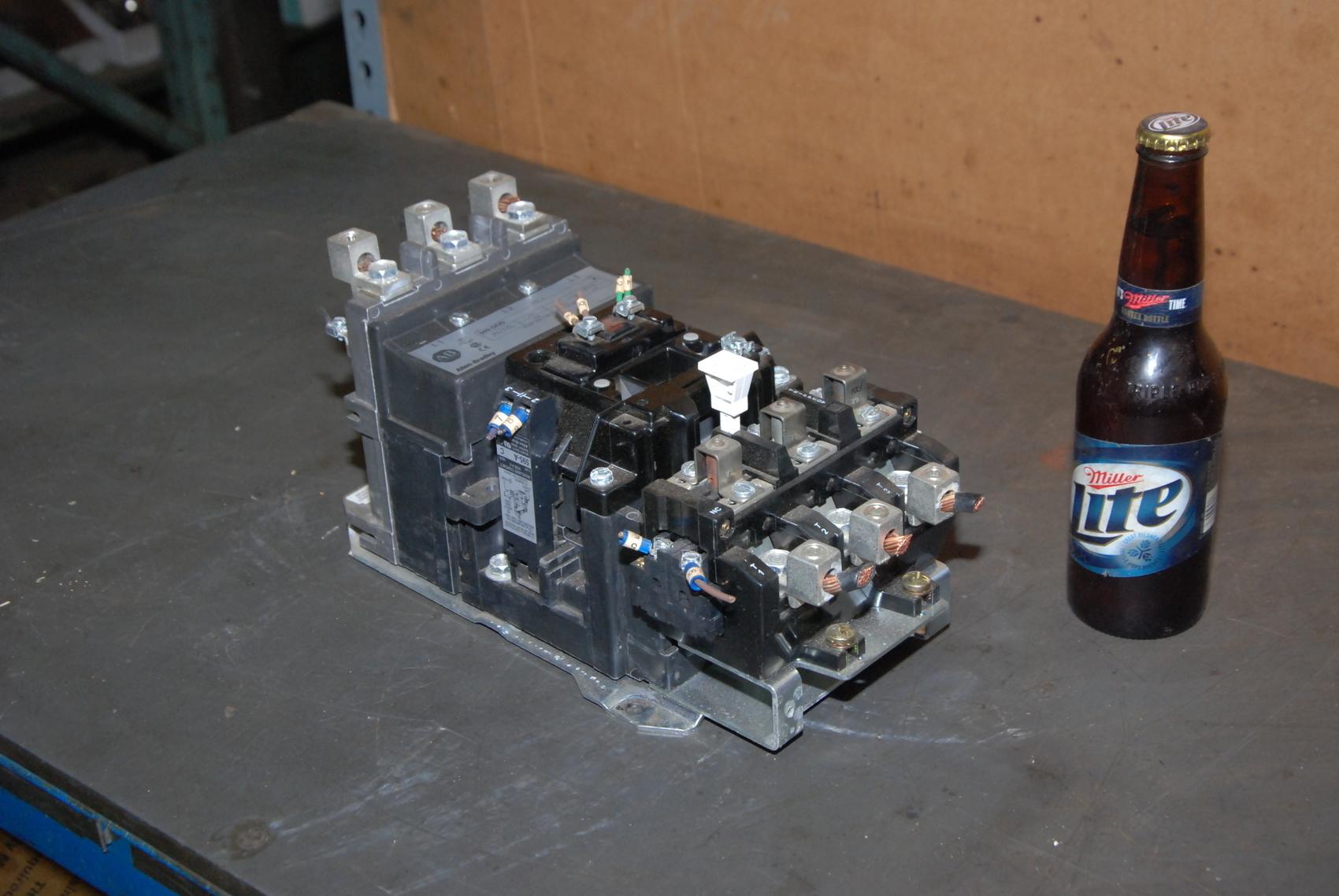 Allen-Bradley 509 DOD Size 3 Starter 120V Coil Series B 50 HP